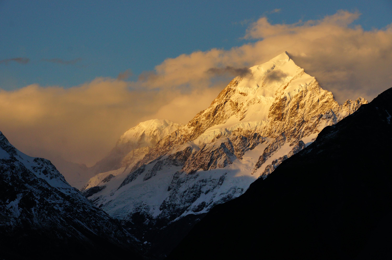 Mt cook national park. nz photo