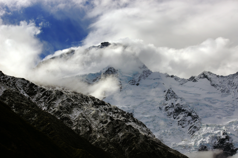 Mt sefton nz. photo