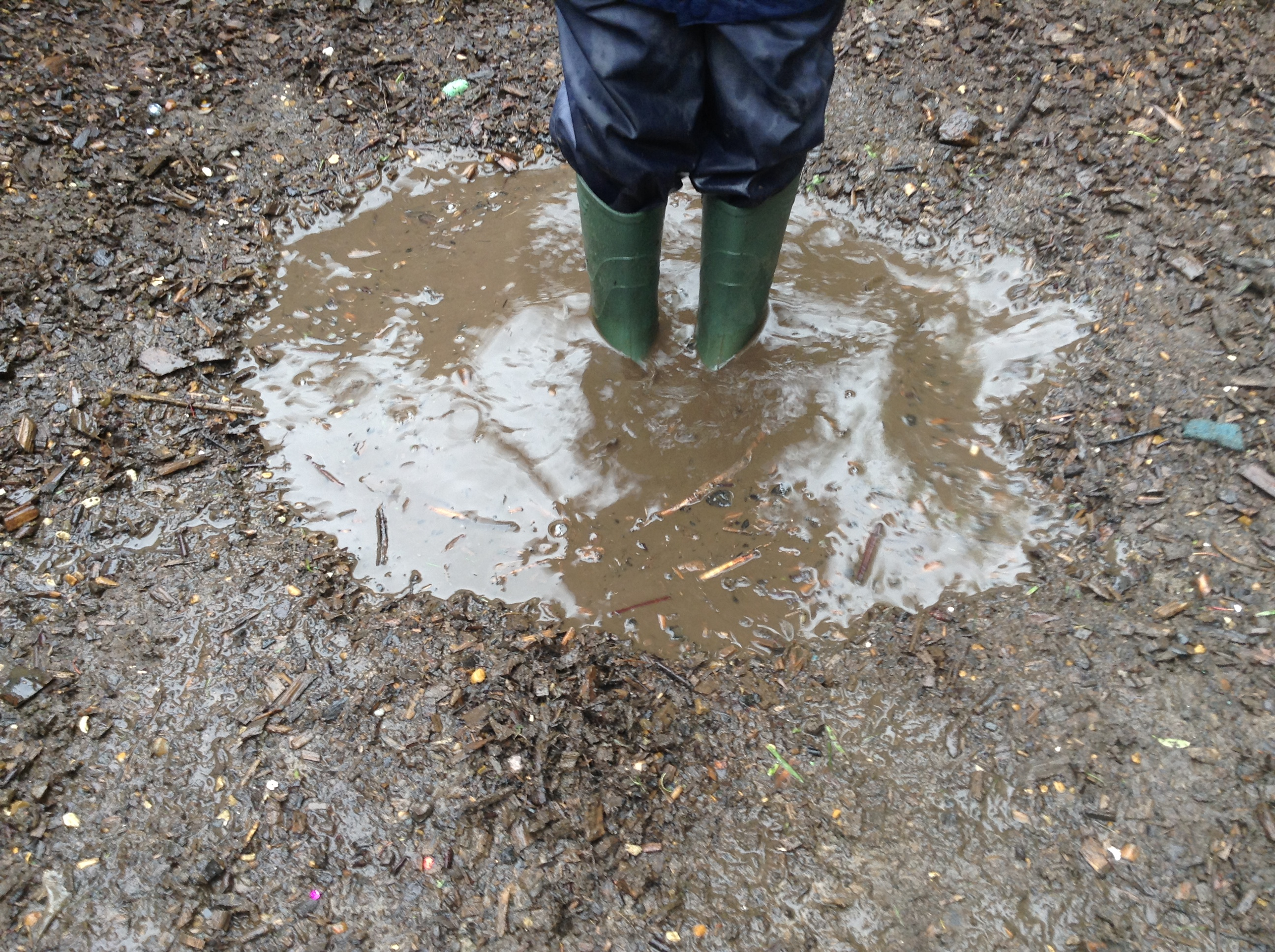 Jumping in Muddy Puddles! | EYFSMatters