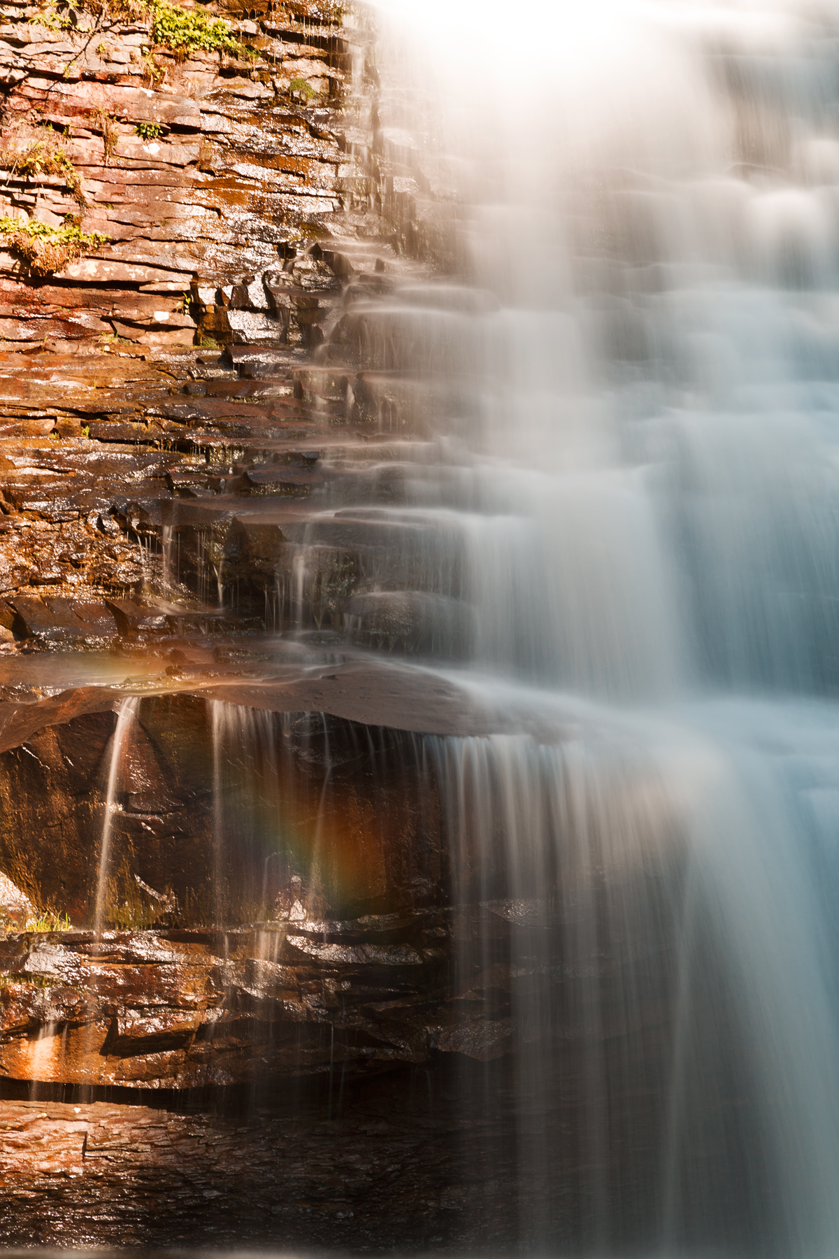 Muddy creek rainbow falls photo