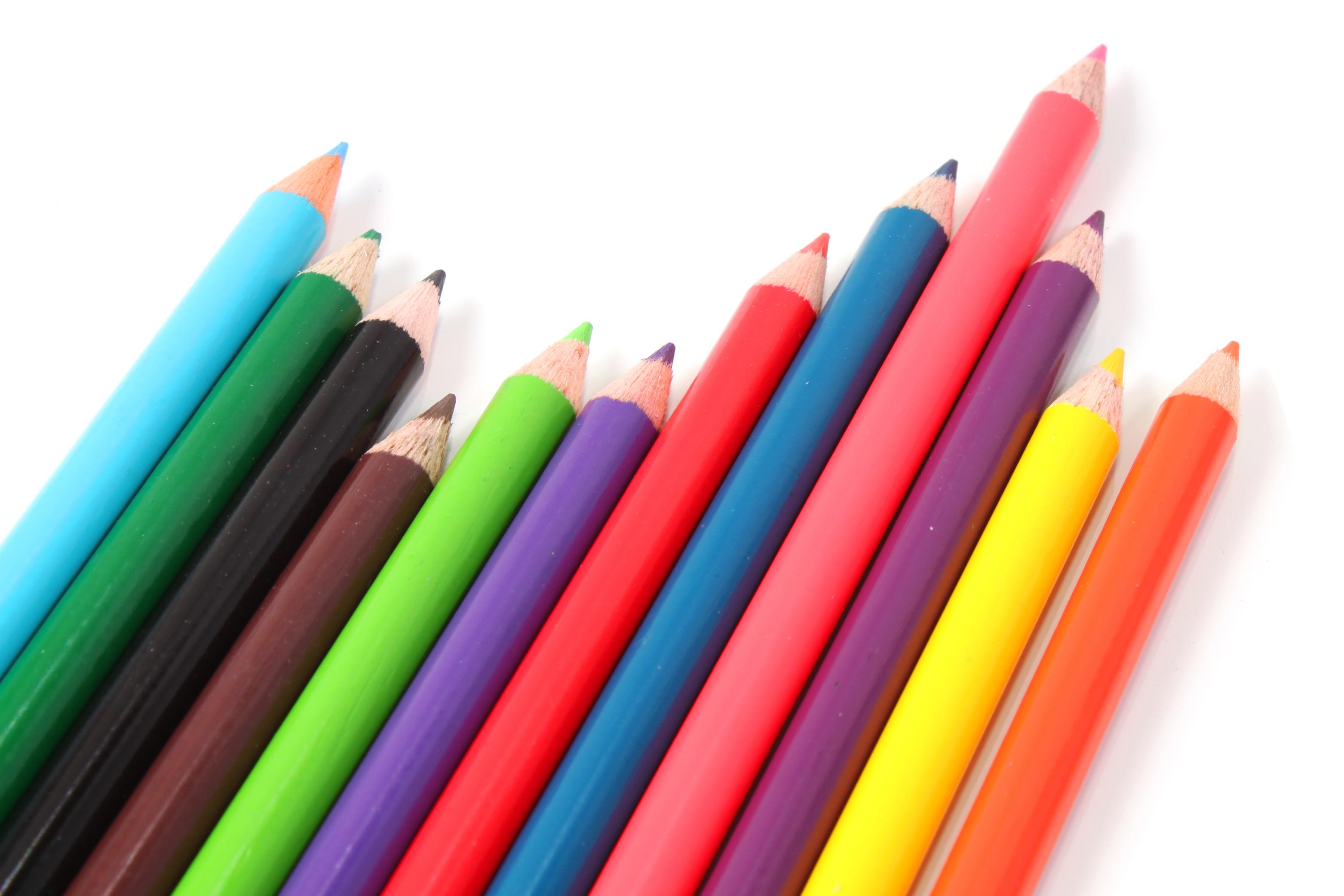 Multicolor Crayons, Multicolour, Educate, Education, Equipment, HQ Photo