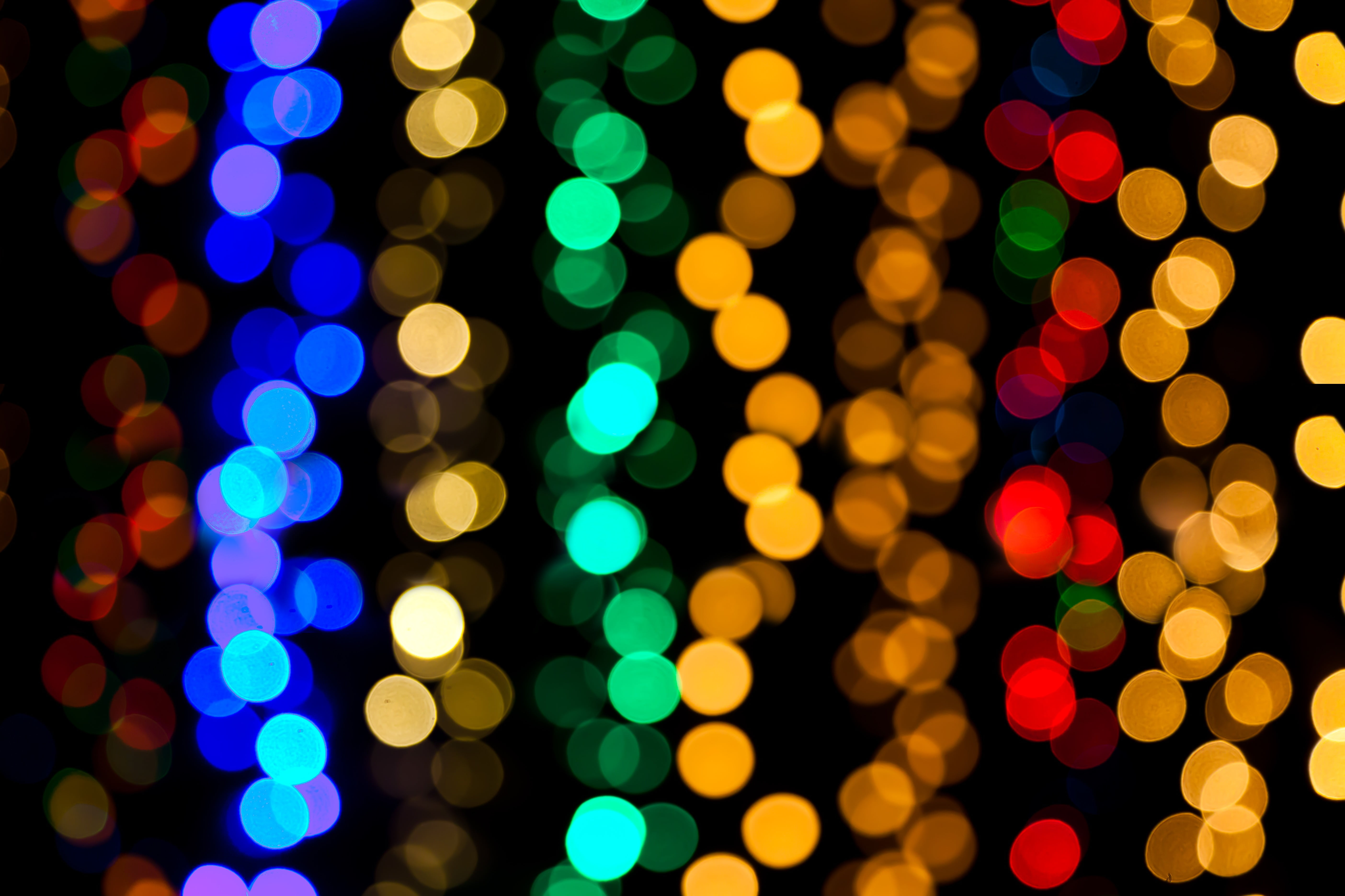 Multicolored bokeh photography HD wallpaper | Wallpaper Flare