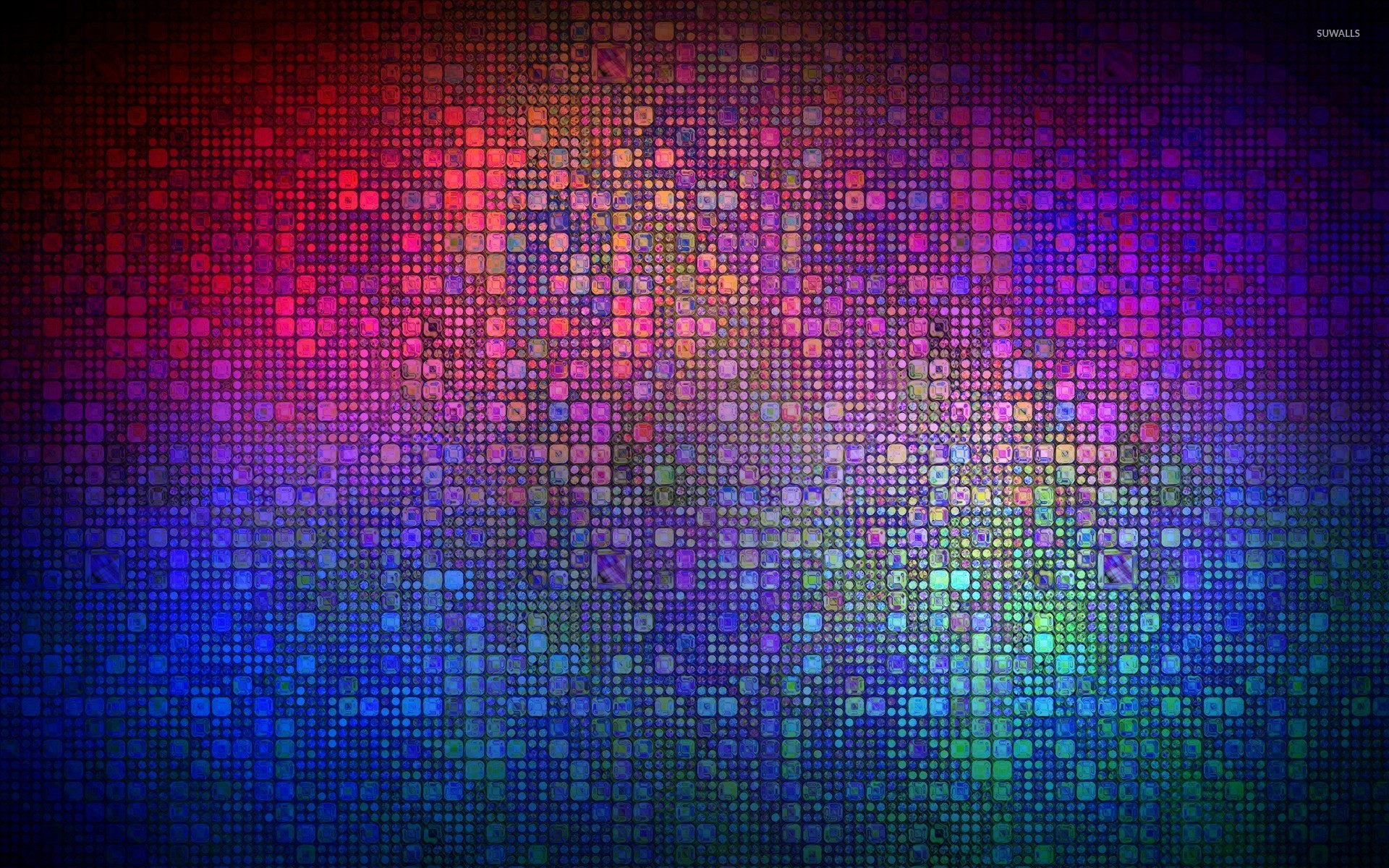 Multicolored mosaic wallpaper - Abstract wallpapers - #26924