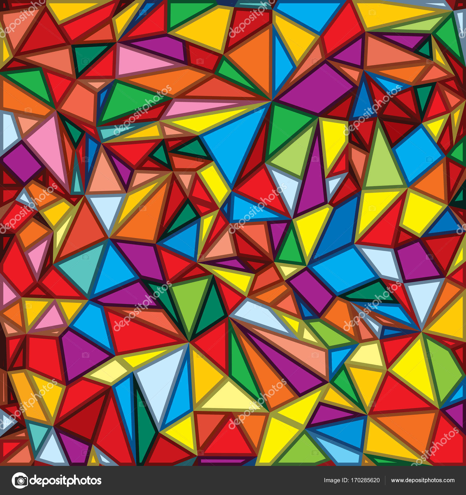 Abstract Mosaic Multicolored Background — Stock Photo © PILart ...