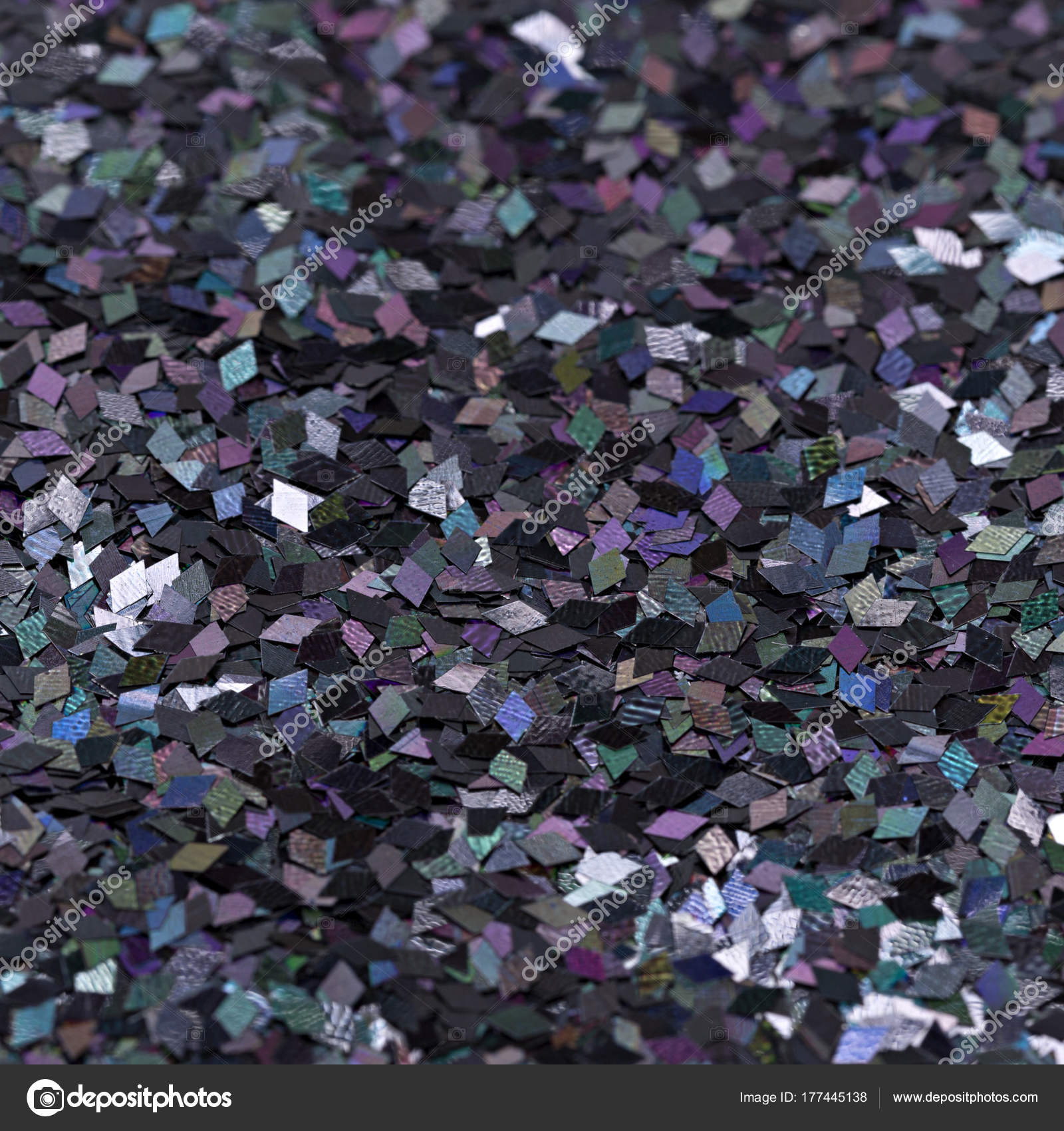 multicolored shiny texture, sequins with blur background — Stock ...