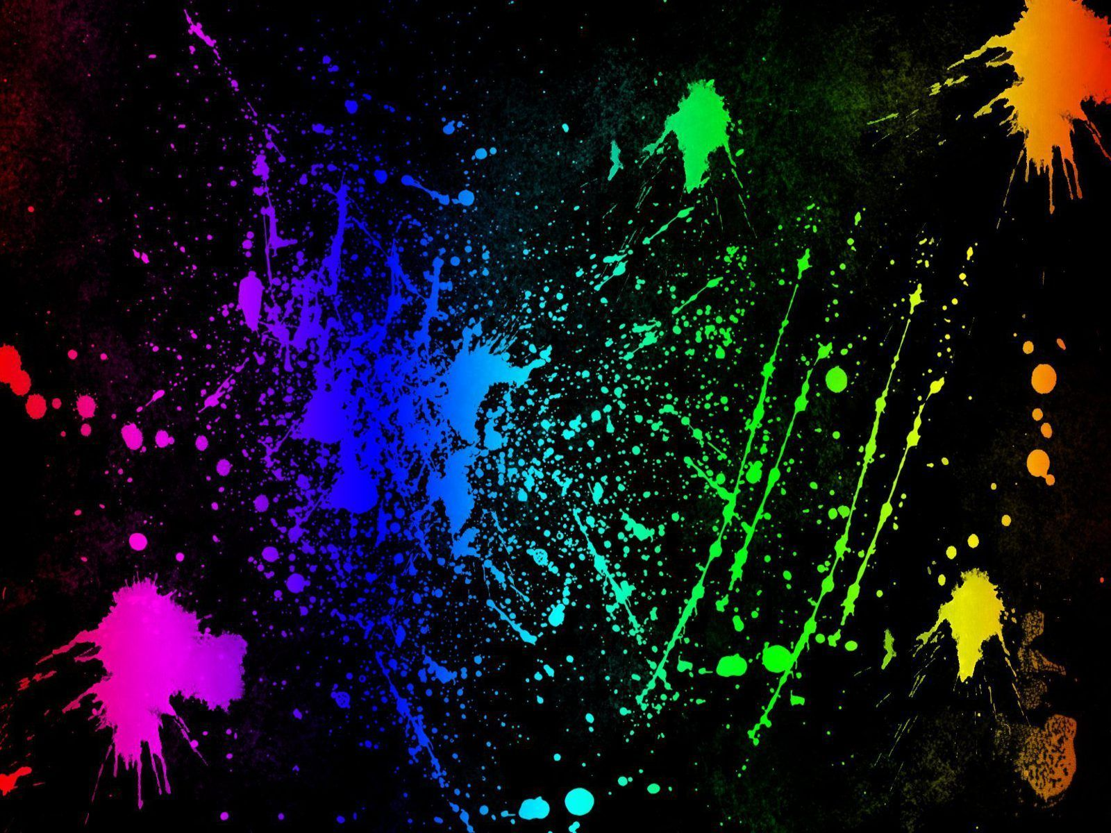 Splatter - Neon Colors Rock Wallpaper (18995953) - Fanpop fanclubs ...