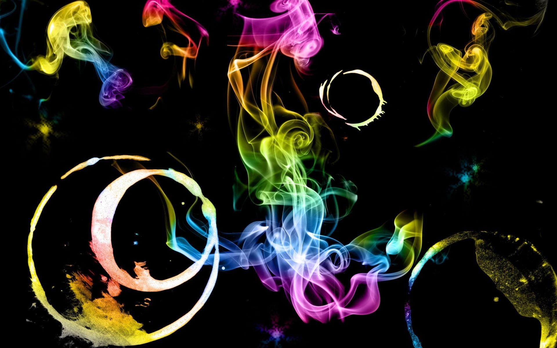 Multicolored smoke digital wallpaper HD wallpaper | Wallpaper Flare