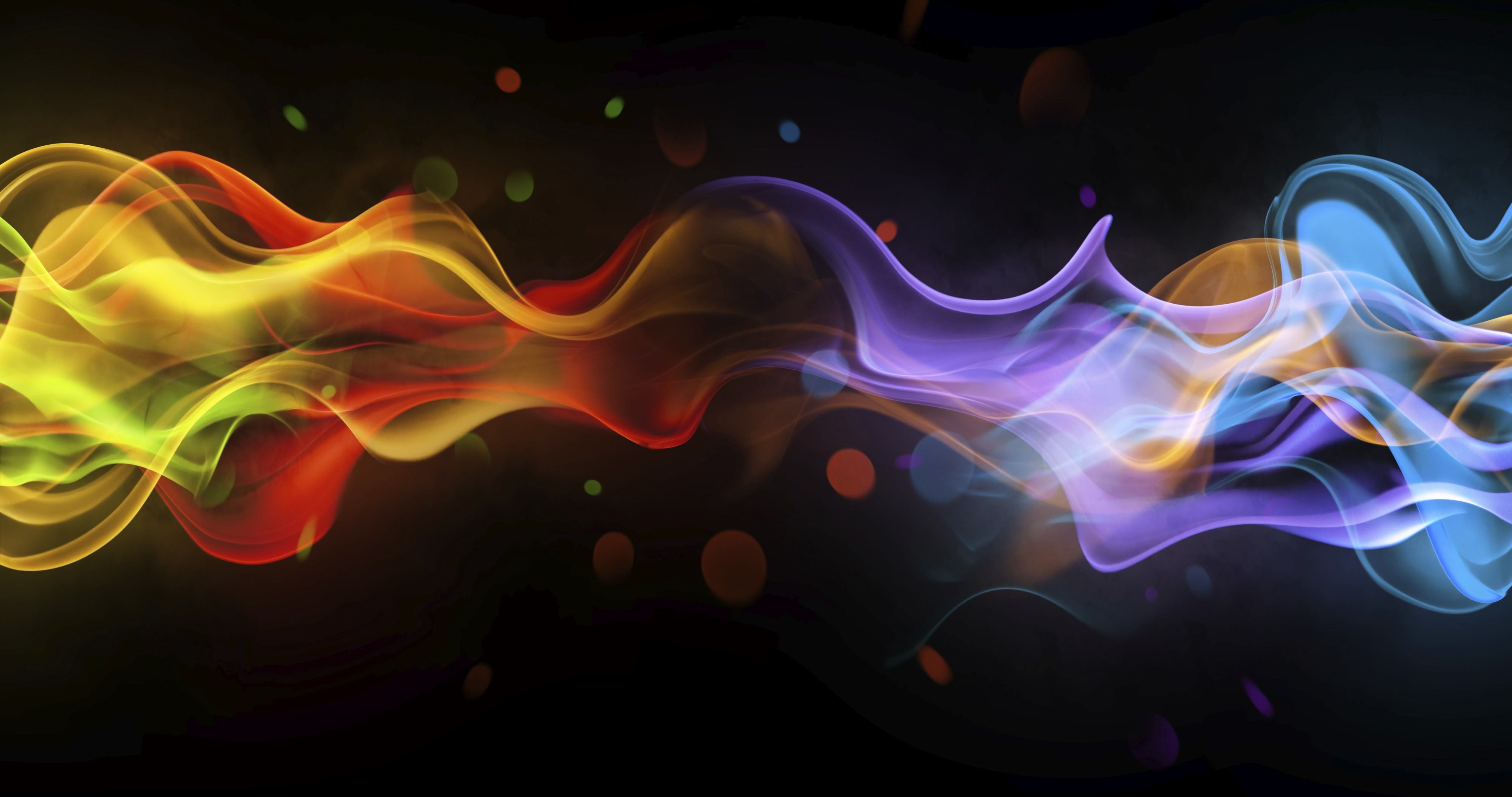 smoke multicolored wallpaper 4k ultra hd wallpaper » High quality walls