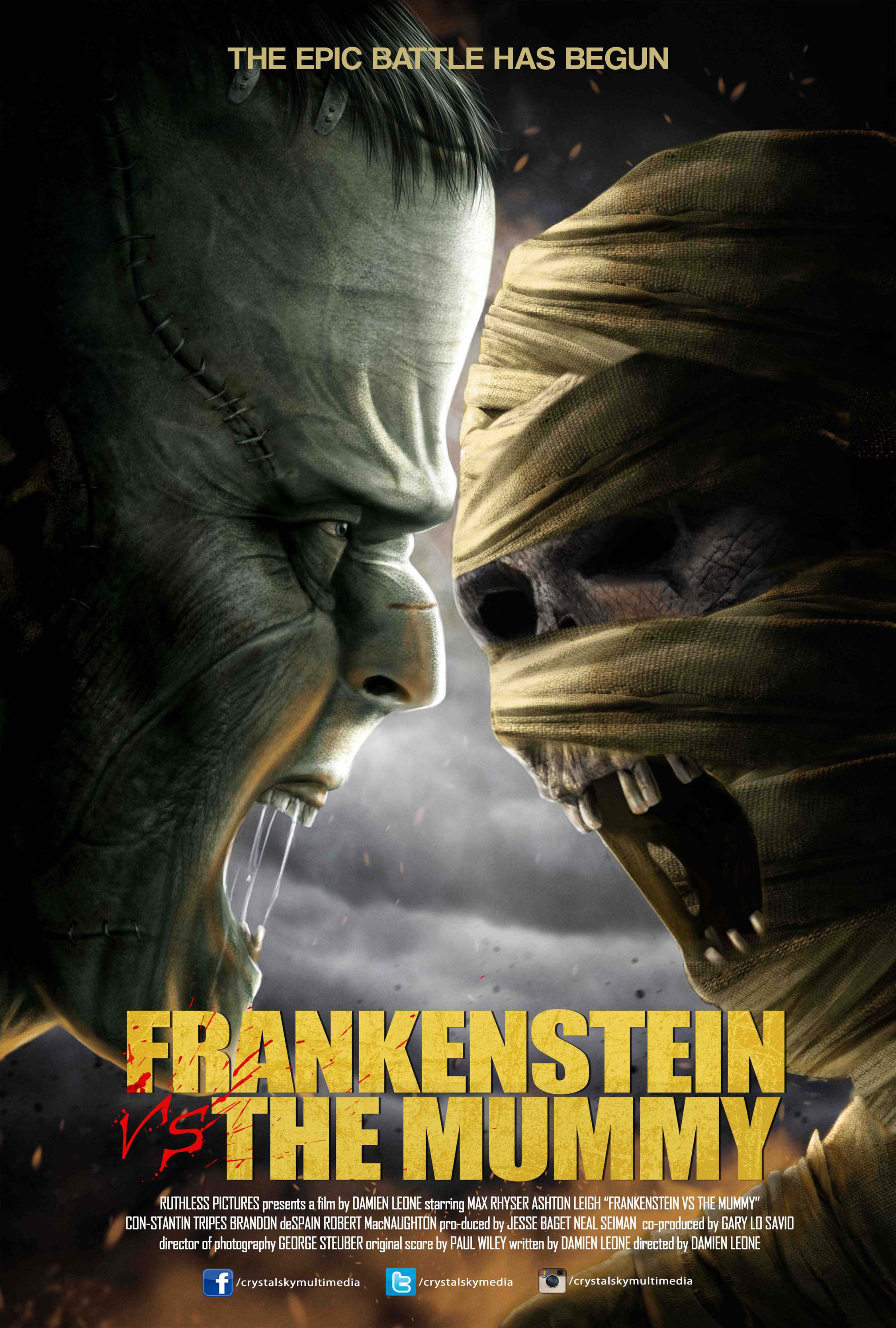 Frankenstein vs. The Mummy opens November 4 - InqPOP!