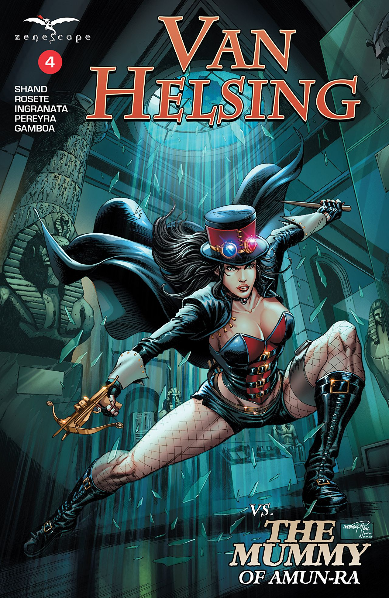 Van Helsing vs. The Mummy of Amun-Ra #4 - Comics by comiXology