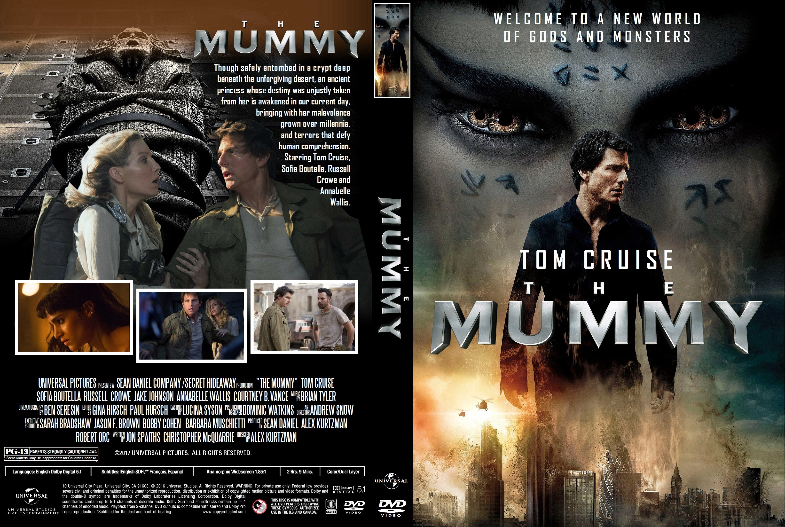 The Mummy DVD Cover - Cover Addict - DVD Covers And Labels
