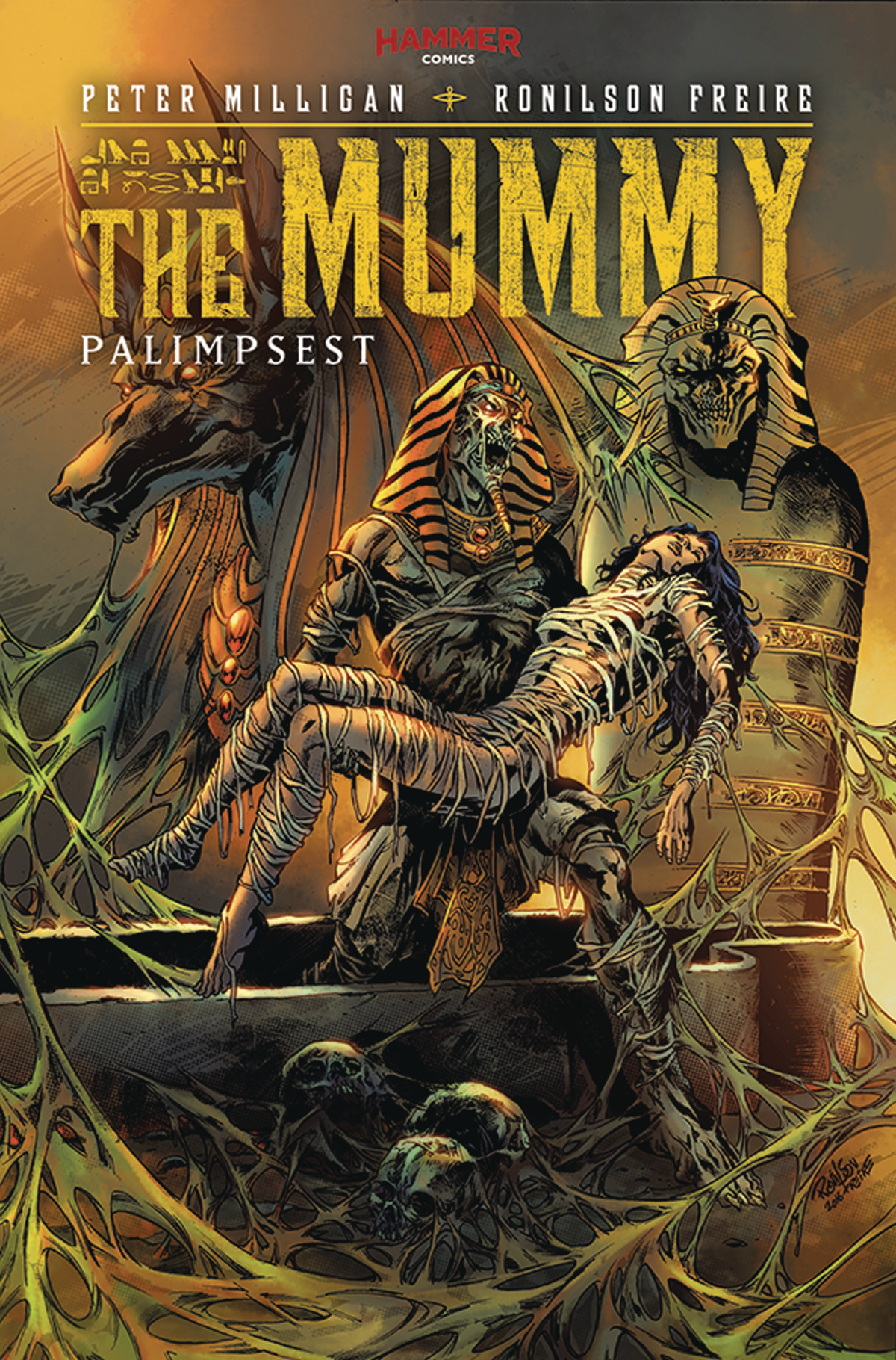 JAN172025 - THE MUMMY (HAMMER) #5 - Previews World