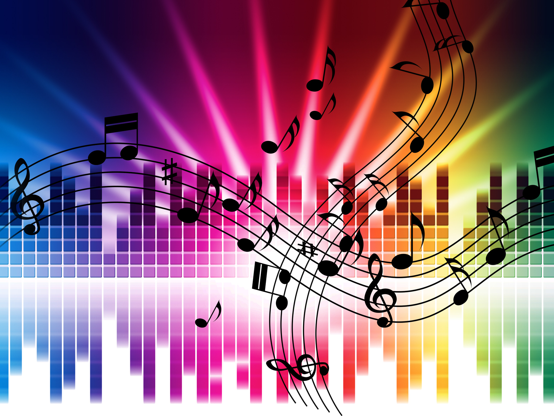 Music Colors Background Means Singing Playing Or Disco, Songs, Music, Singing, Singers, HQ Photo