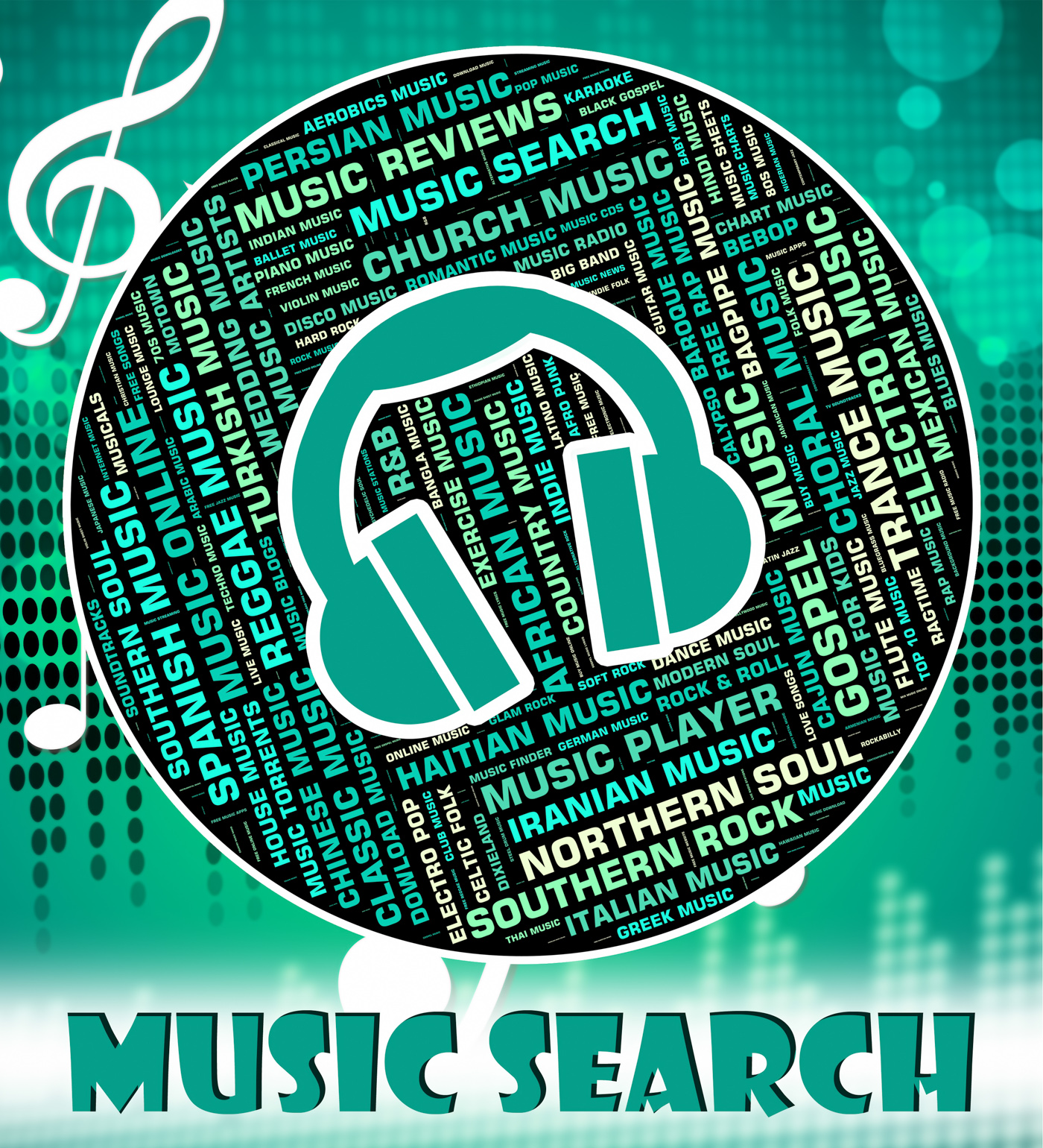 Free photo: Music Search Represents Sound Track And Audio