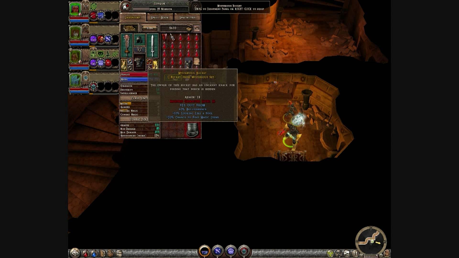 Dungeon Siege 2 - THE BUCKET - YouTube
