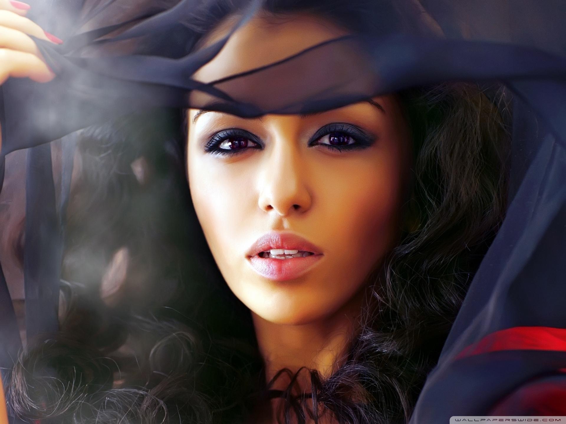 Mysterious Woman ❤ 4K HD Desktop Wallpaper for • Wide & Ultra ...