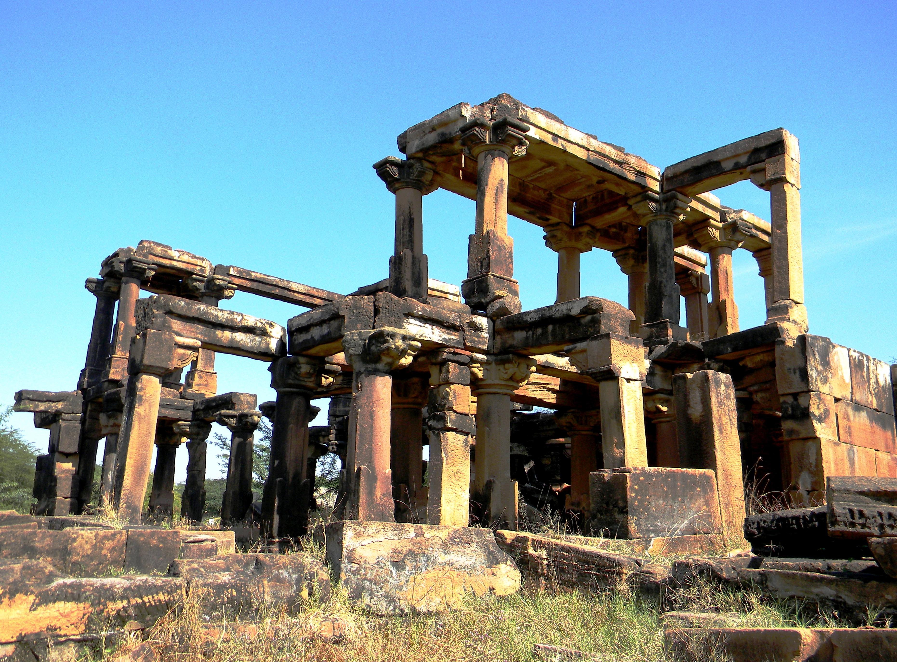 Mystery ruins photo