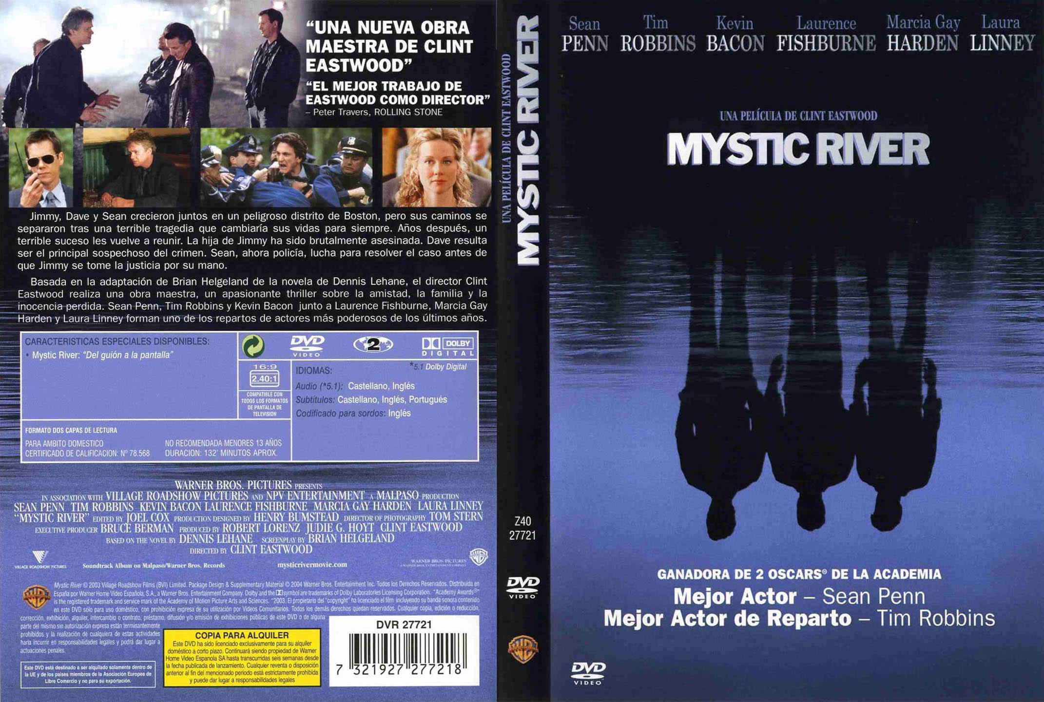 MYSTIC RIVER   El Séptimo Arte (Cinema Covers)   Pinterest   Cinema