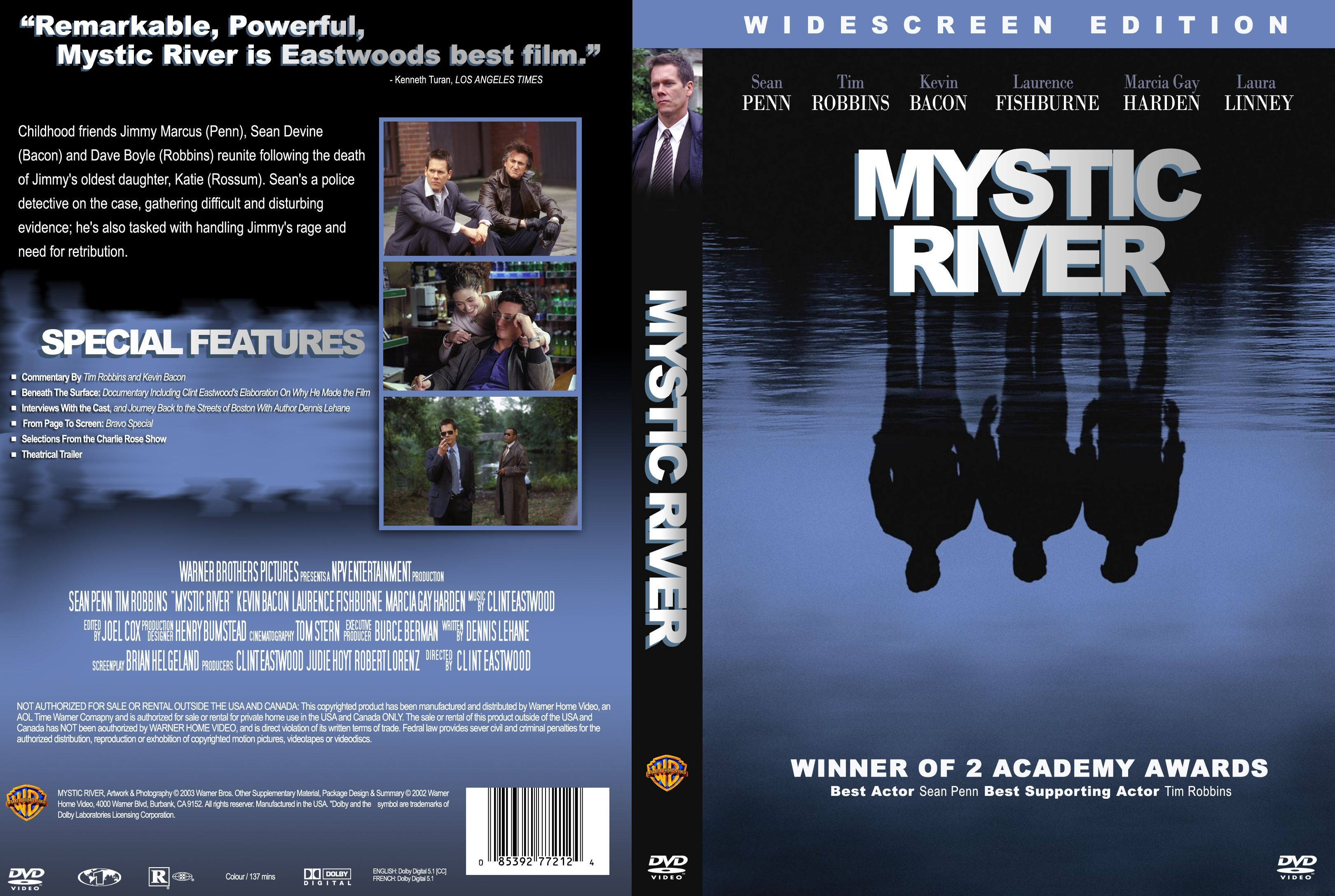 Mystic River | DVD covers and movie posters | Pinterest | Movie