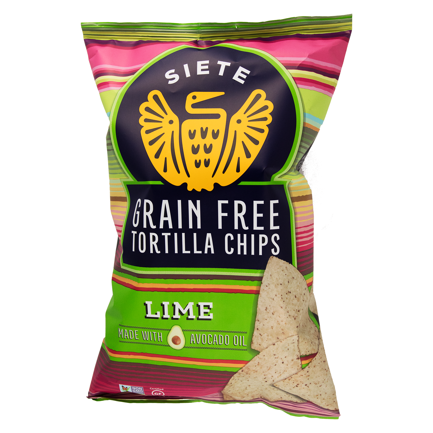 Lime Grain Free Tortilla Chips - 6 Bags | Siete Family Foods