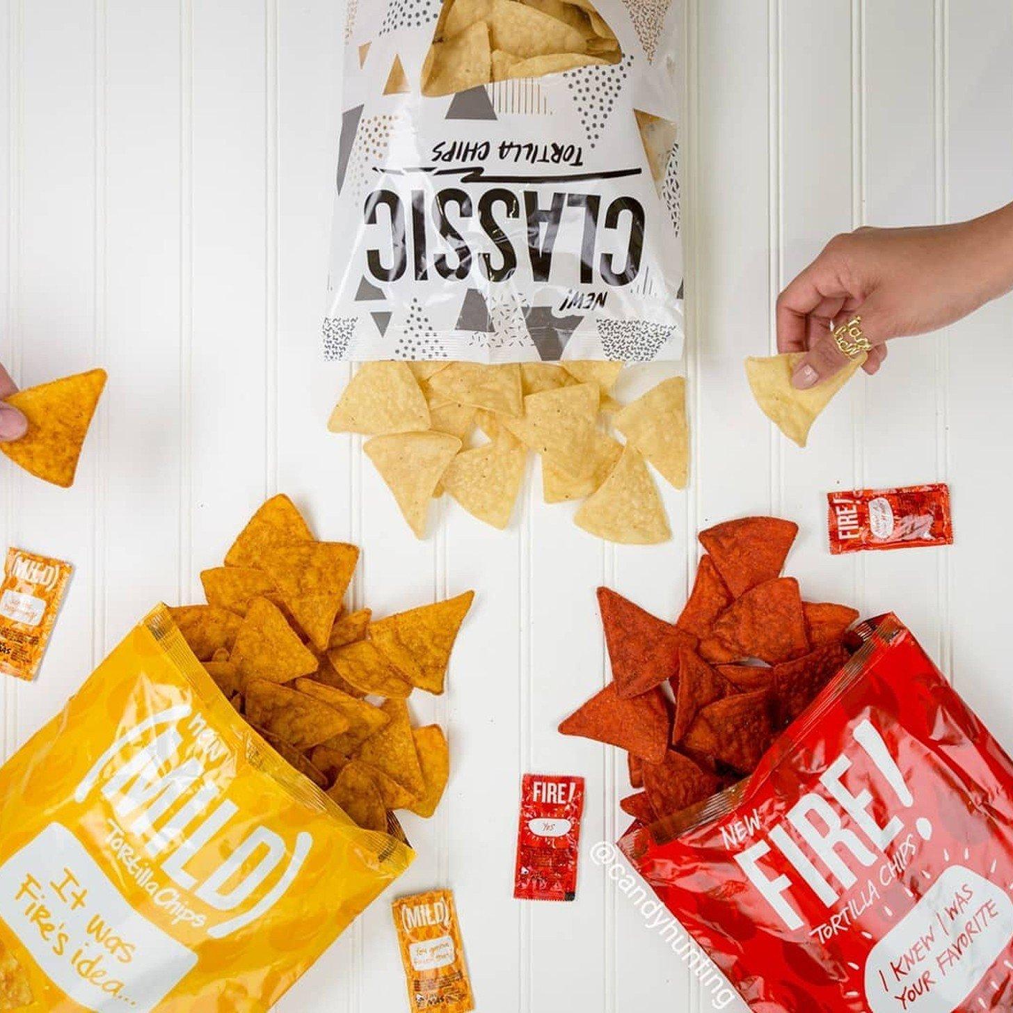 Taco Bell Hot Sauce Tortilla Chips | POPSUGAR Food
