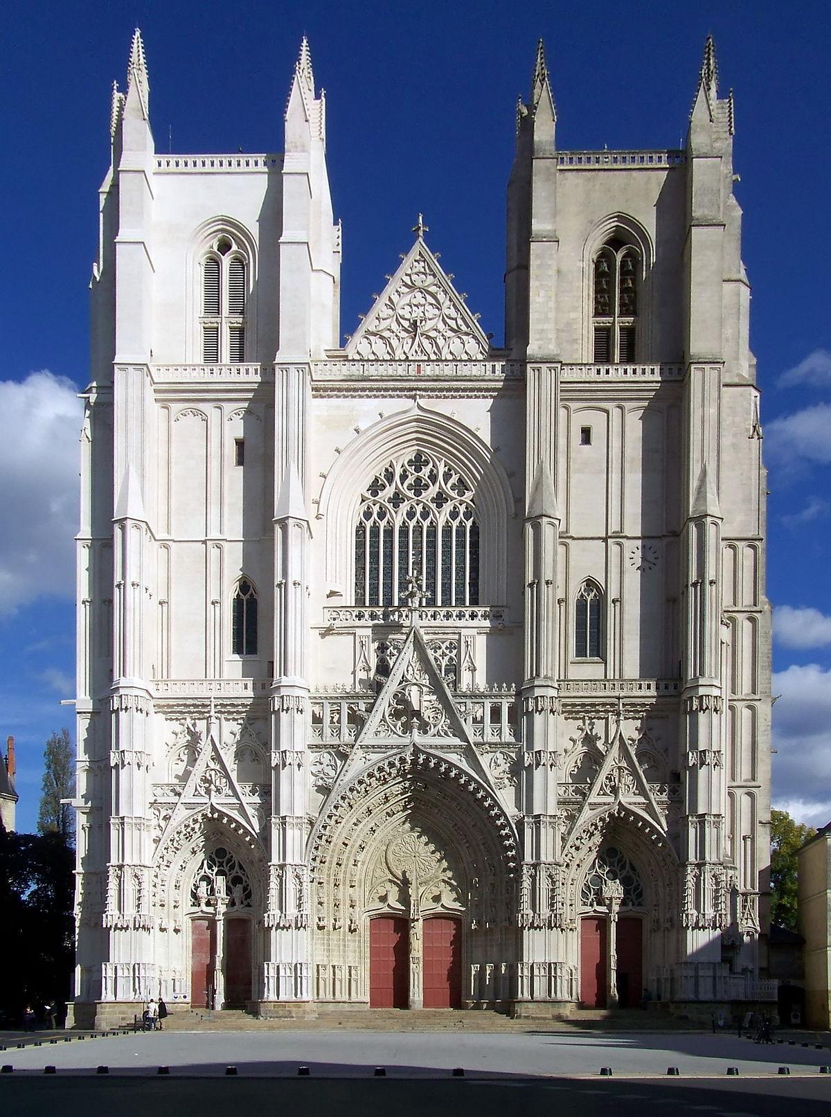 Nantes Cathedral - Wikipedia