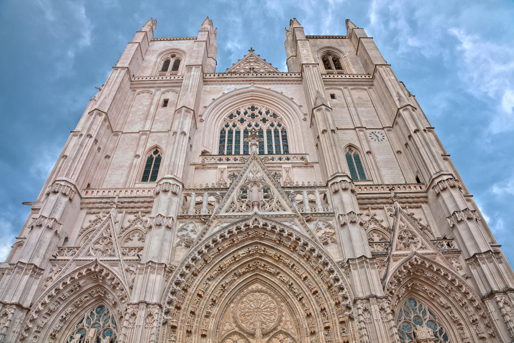 Nantes cathedral - hdr photo
