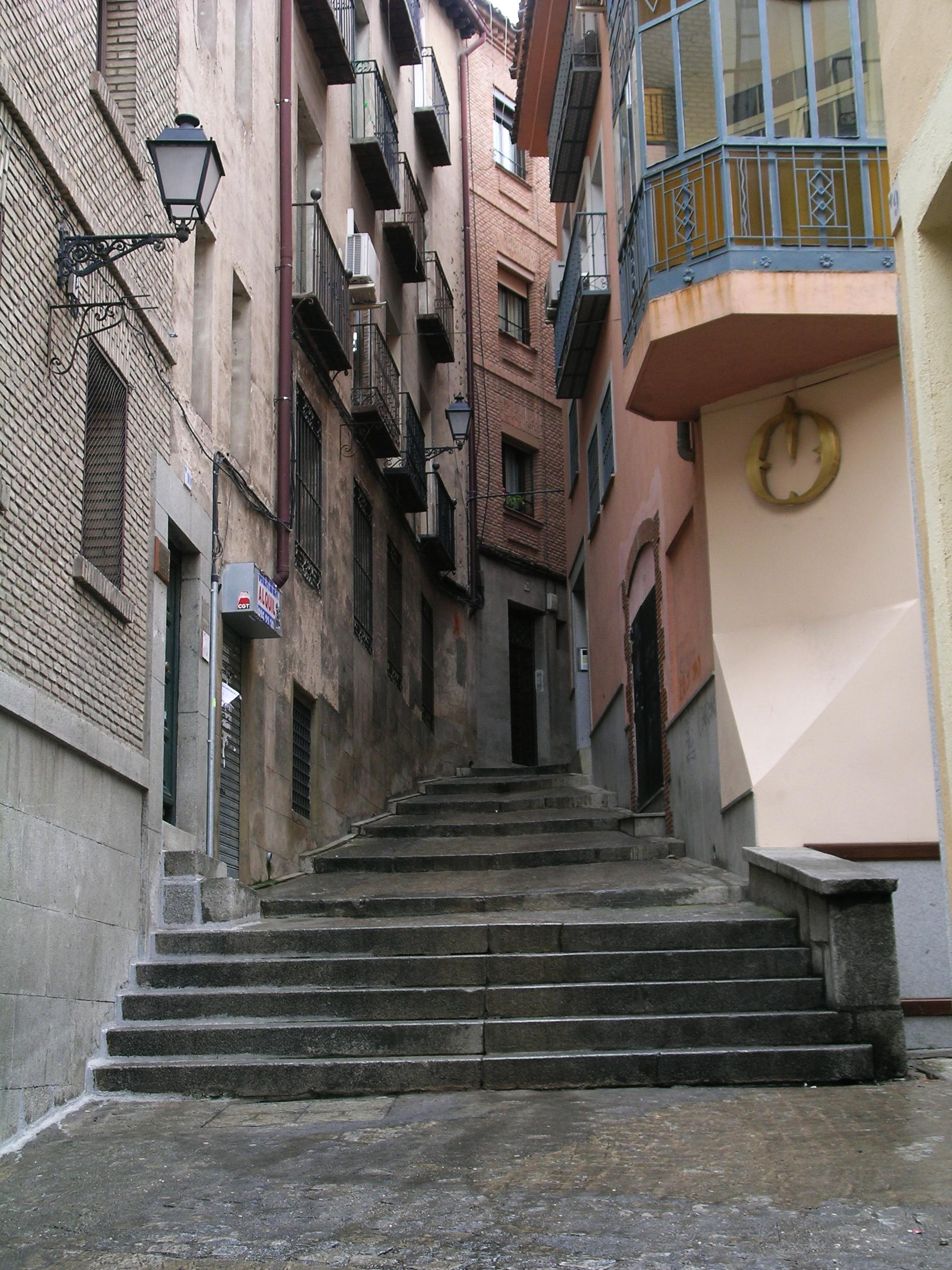 Narrow street photo