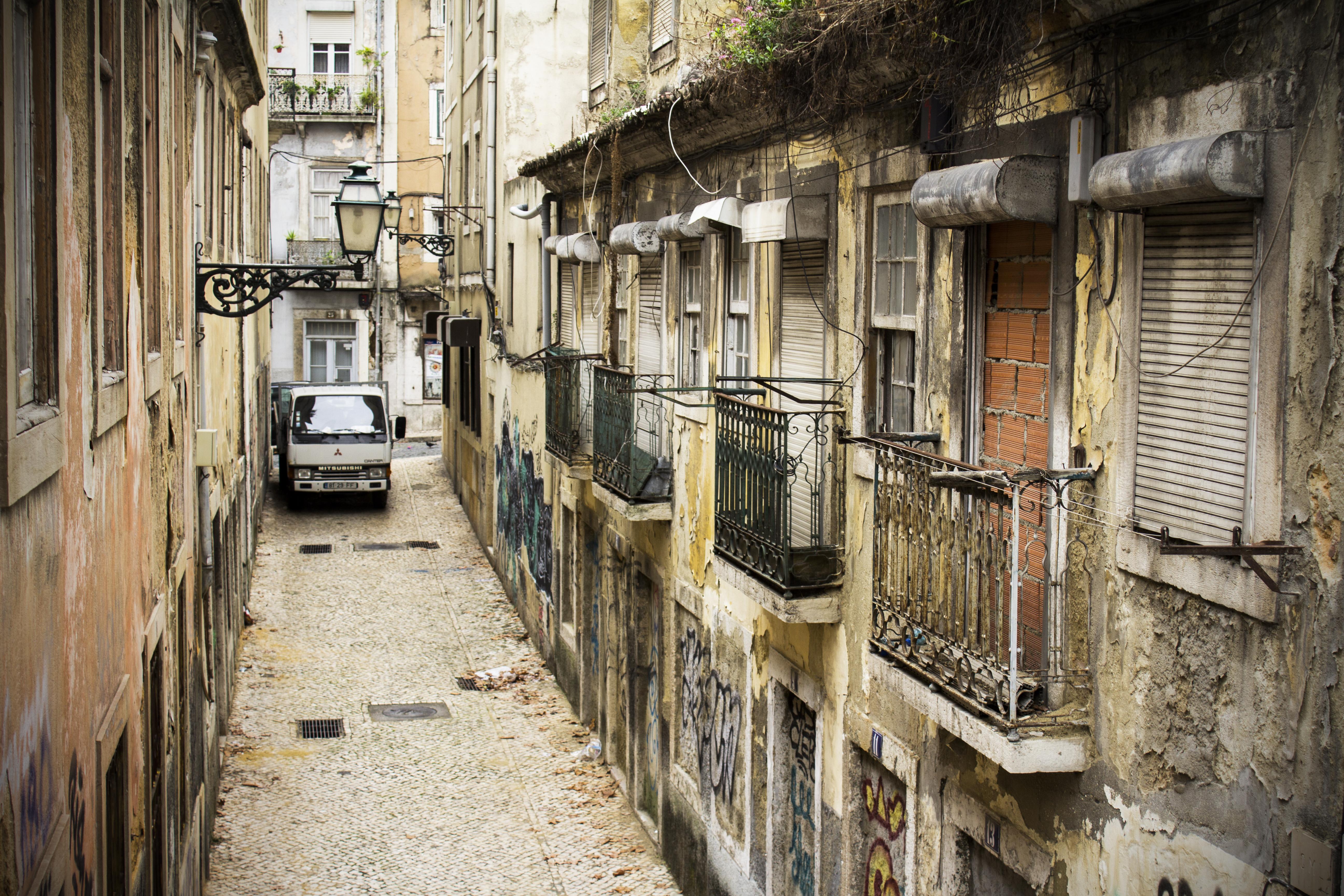 Narrow street in Lisbon by JoseSantos94 on DeviantArt