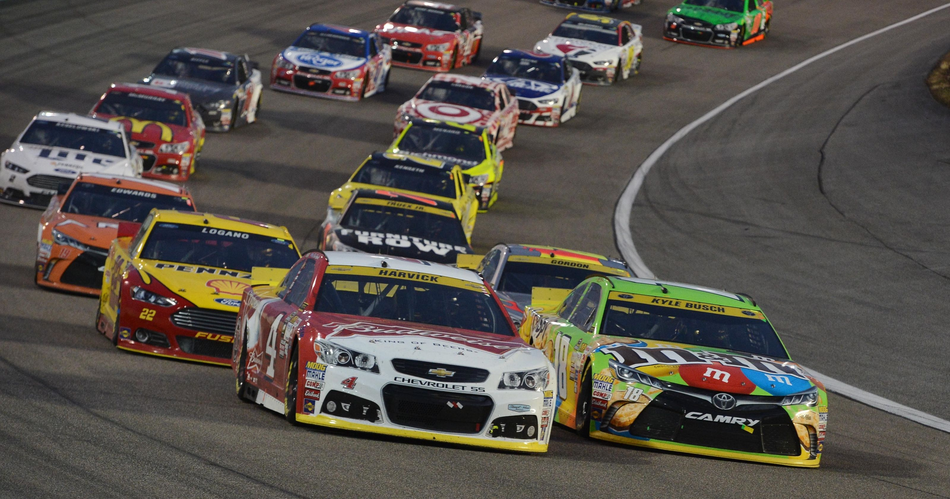 Full 2016 NASCAR Sprint Cup Series schedule