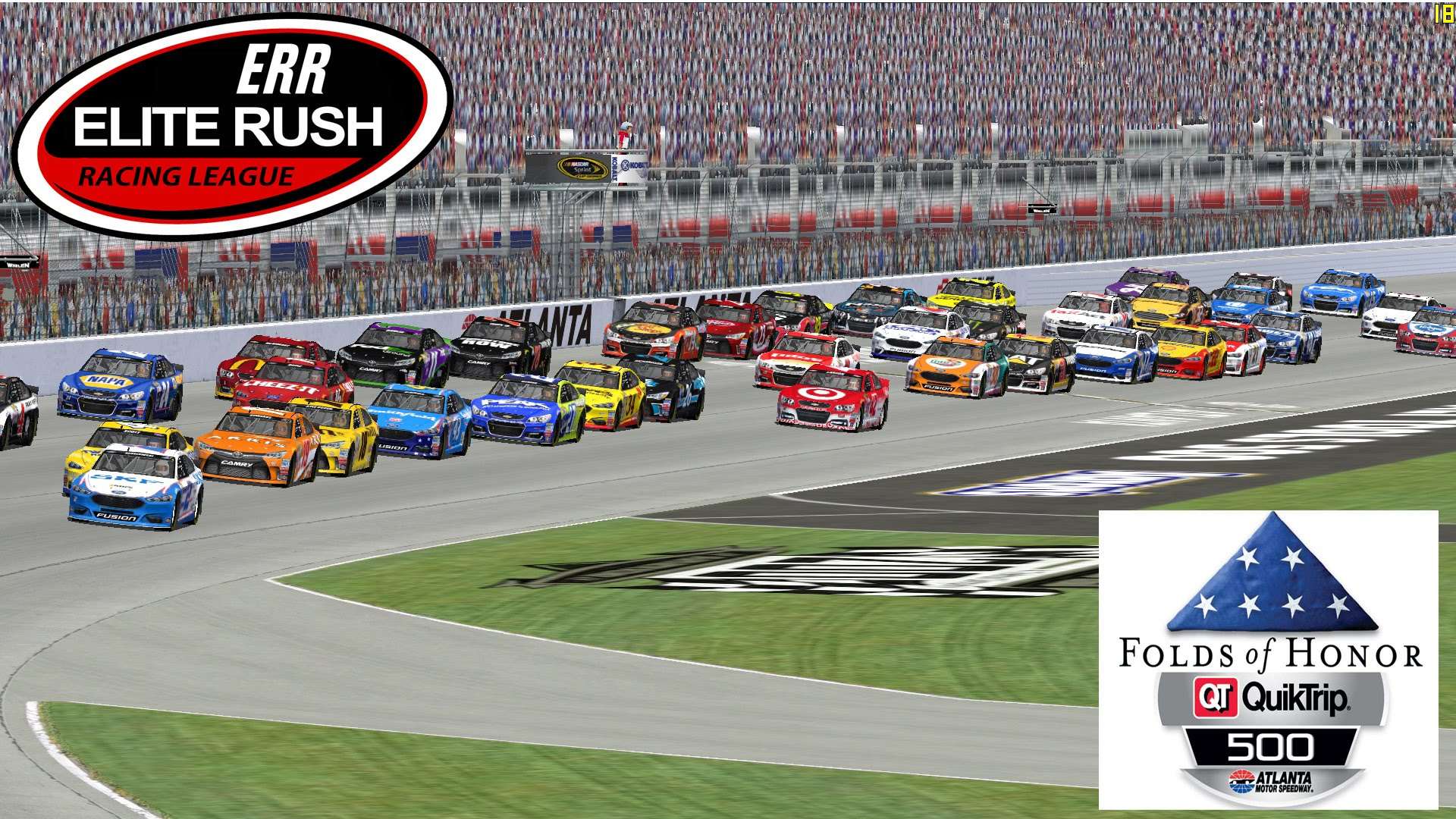 Nascar Racing 2003 - ERR Sprint Cup Series League Race - Atlanta ...