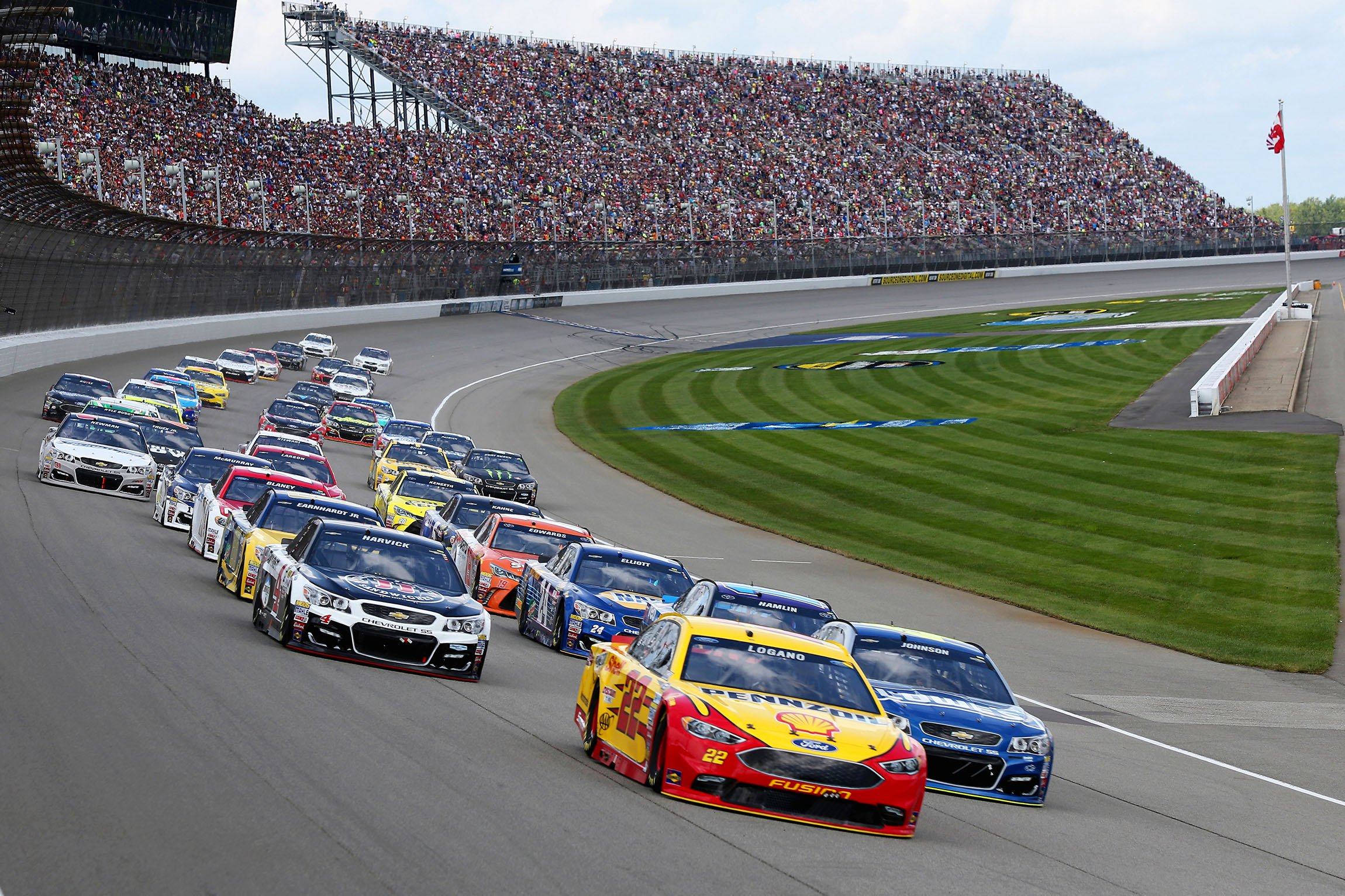 NASCAR to return to Michigan International Speedway for two races in ...