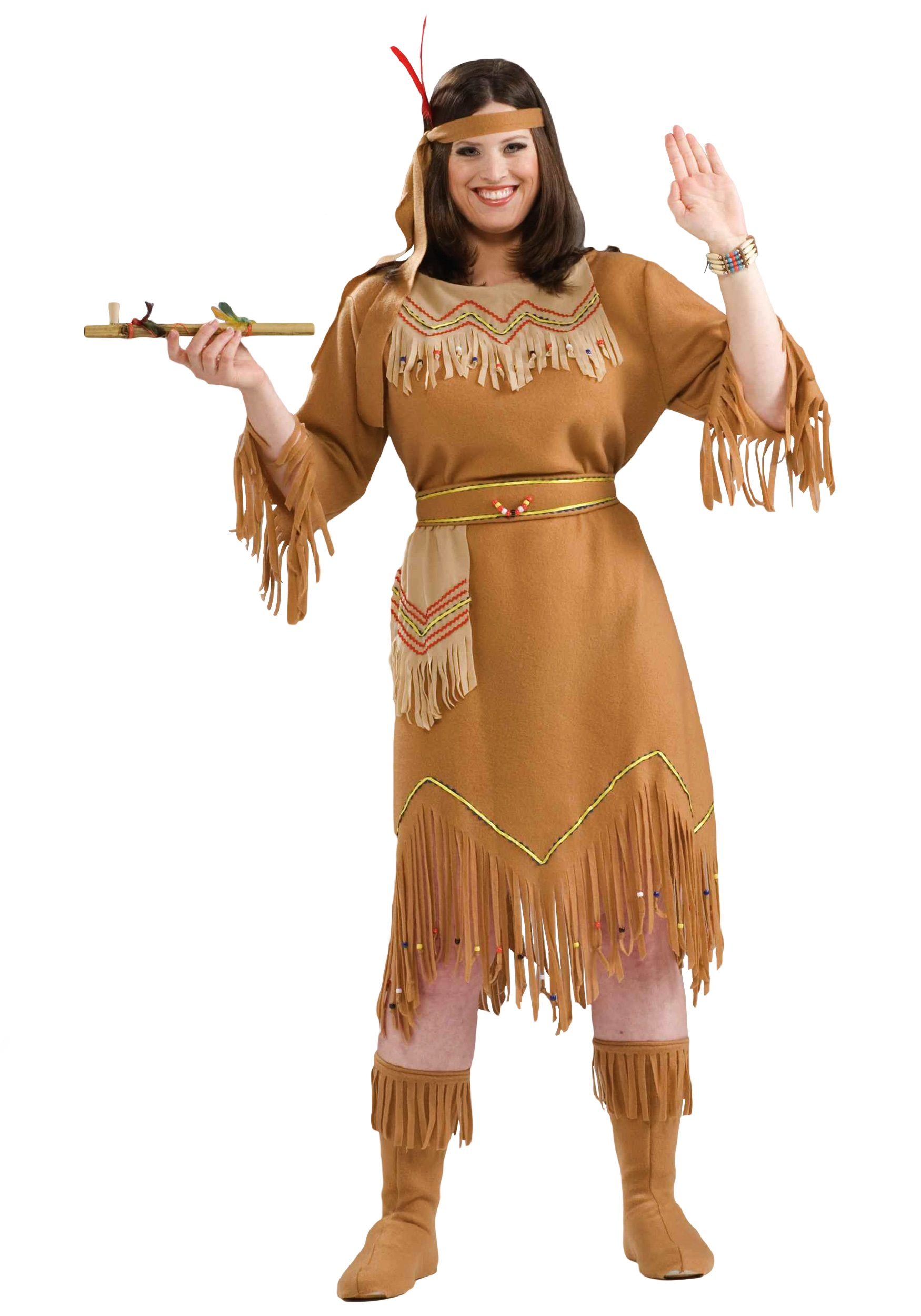 Plus Size Indian Costume - Plus Size Native American Costumes