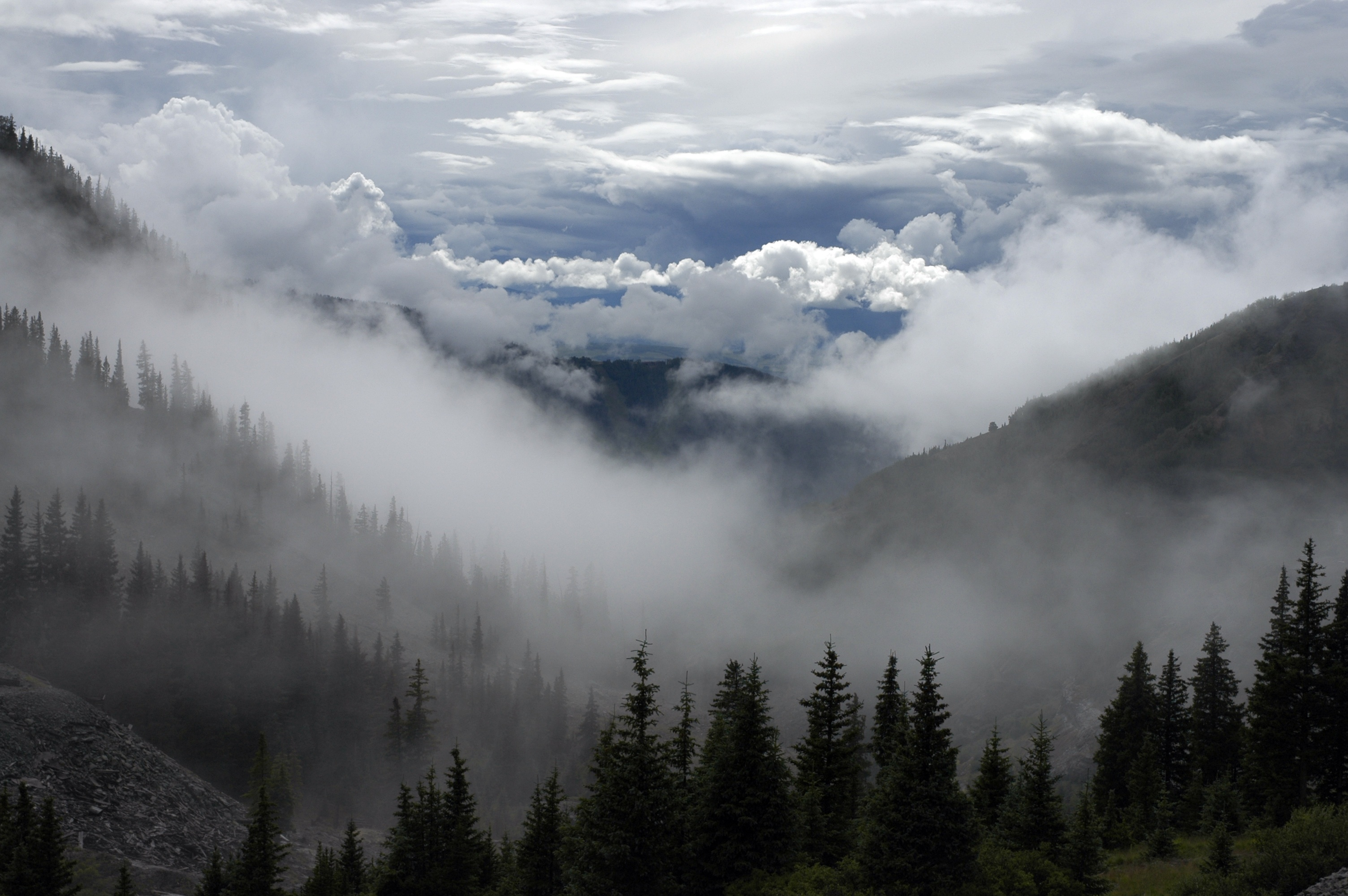 Nature, Altitude, Bunch, Cloud, Cloudy, HQ Photo