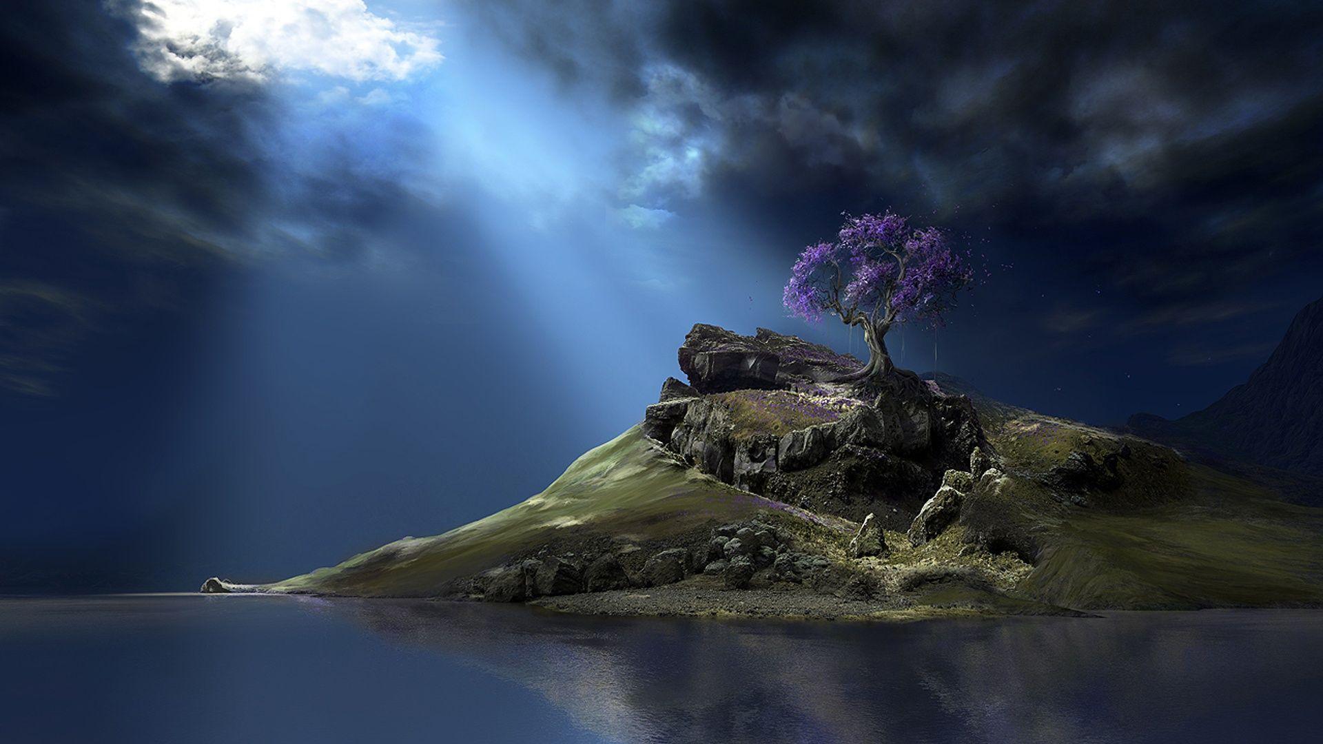 wallpaper | Digital Art Nature Wallpaper | Download | Back To ...