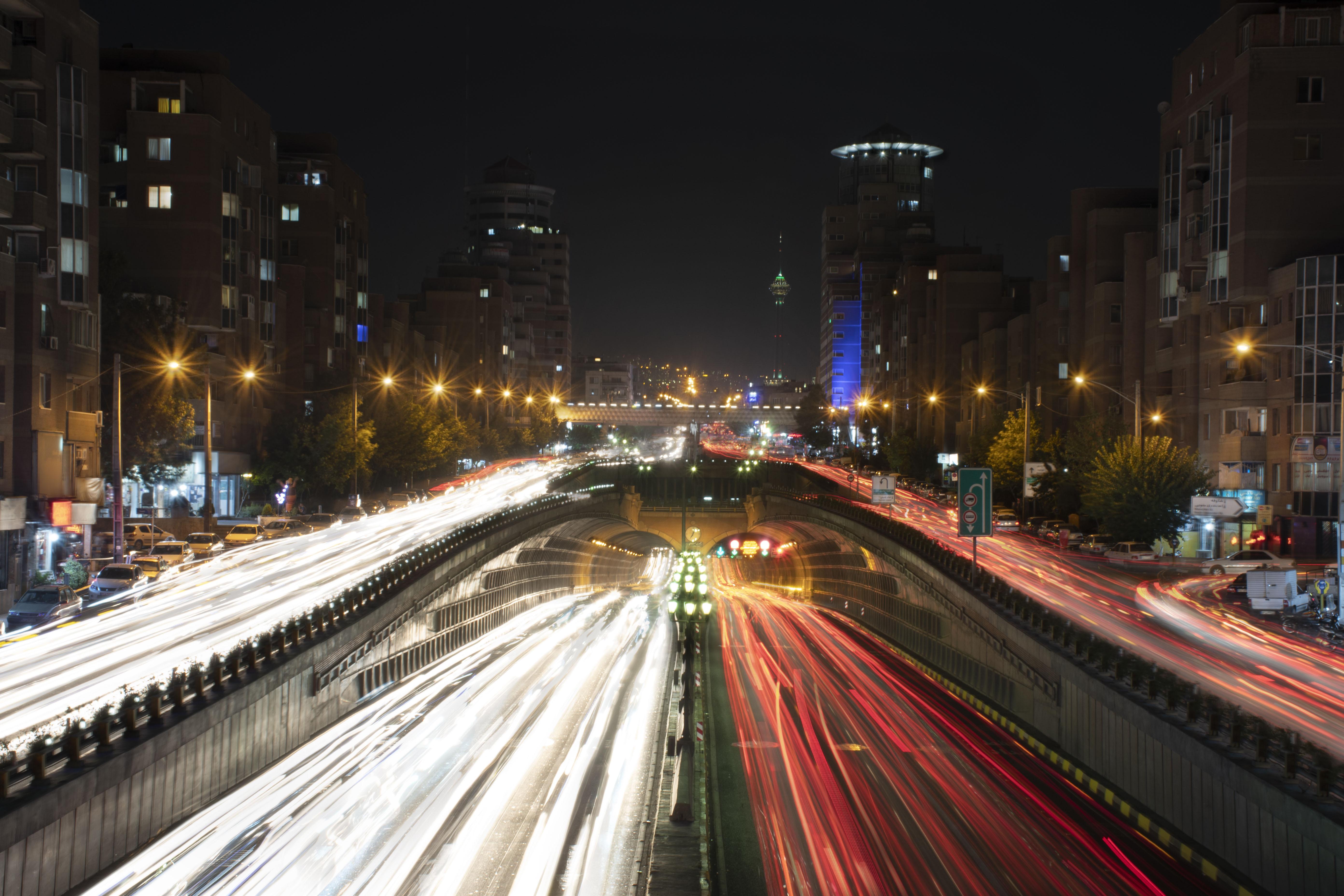 Navab Tunnel, Tehran, Navab Tunnel, Tehran