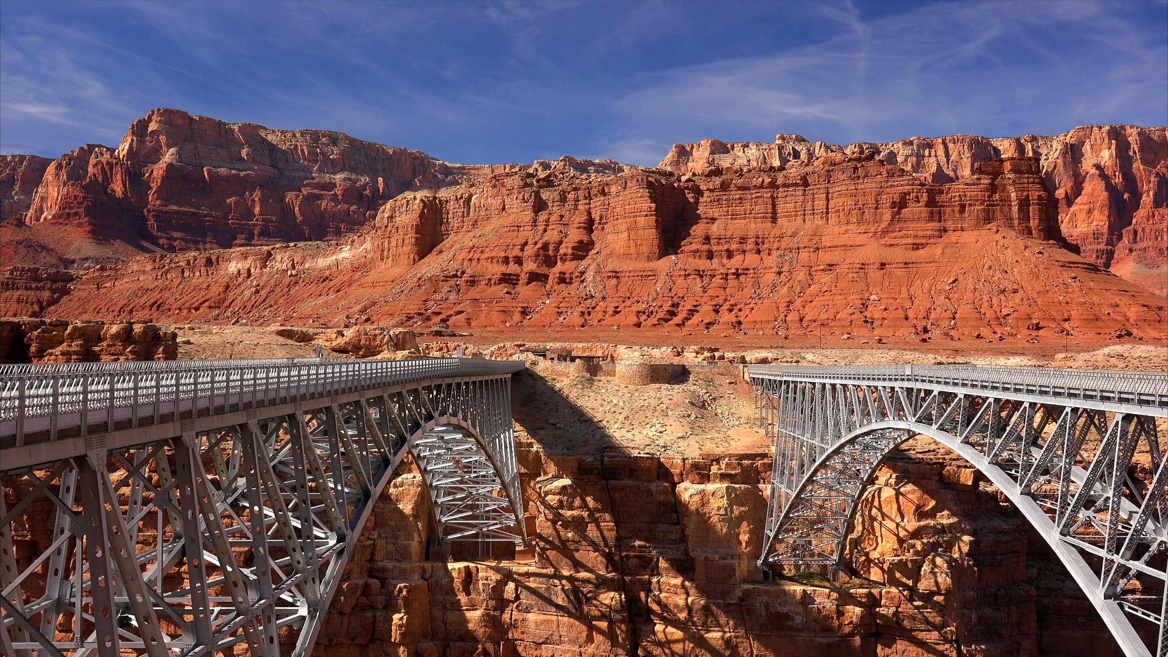 Car Crossing Navajo Bridge Stock Video Footage - Videoblocks