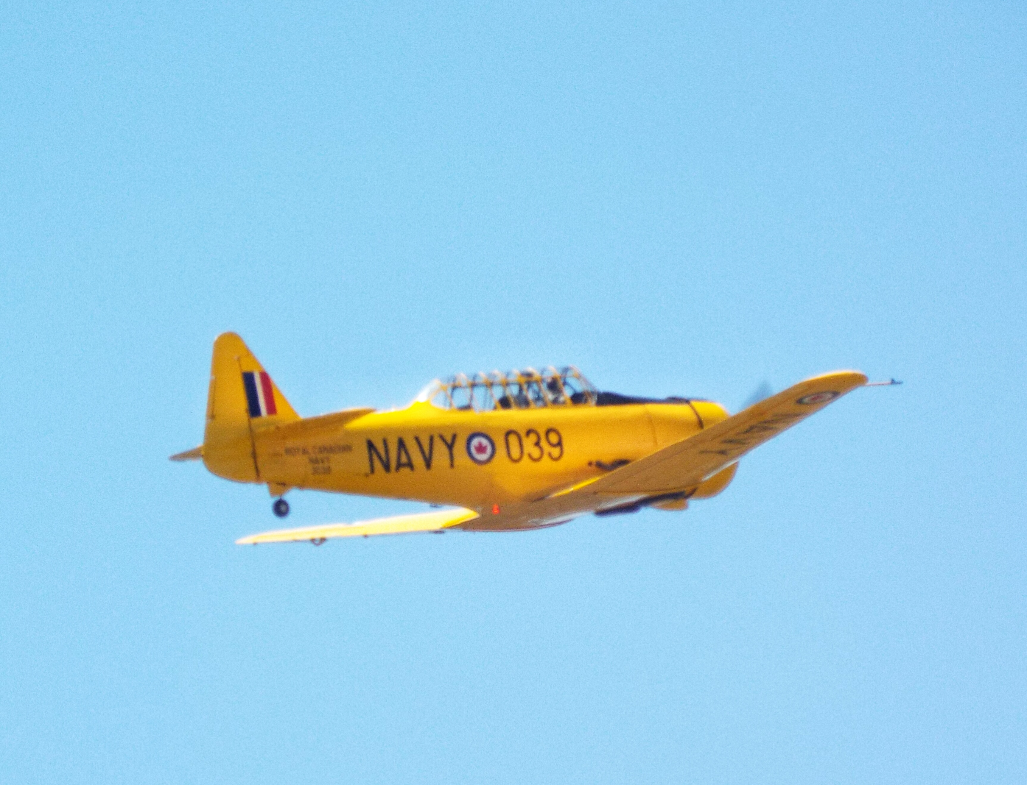 Navy harvard trainer photo