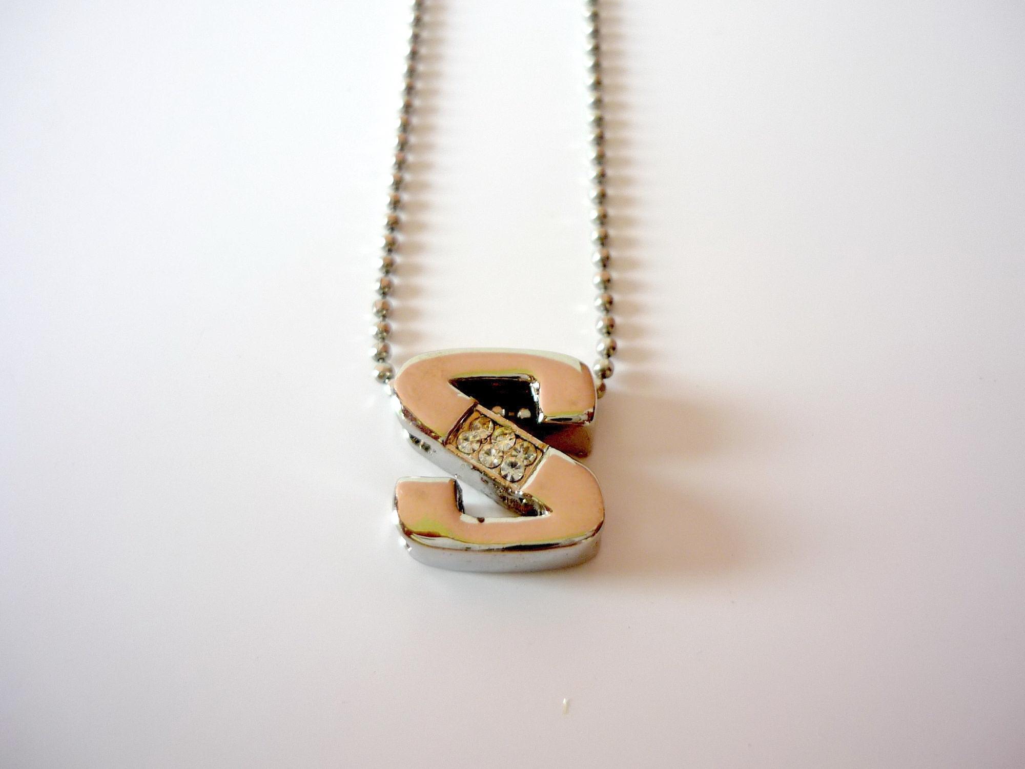 Necklace, Alphabet, Gem, Jewelry, S, HQ Photo