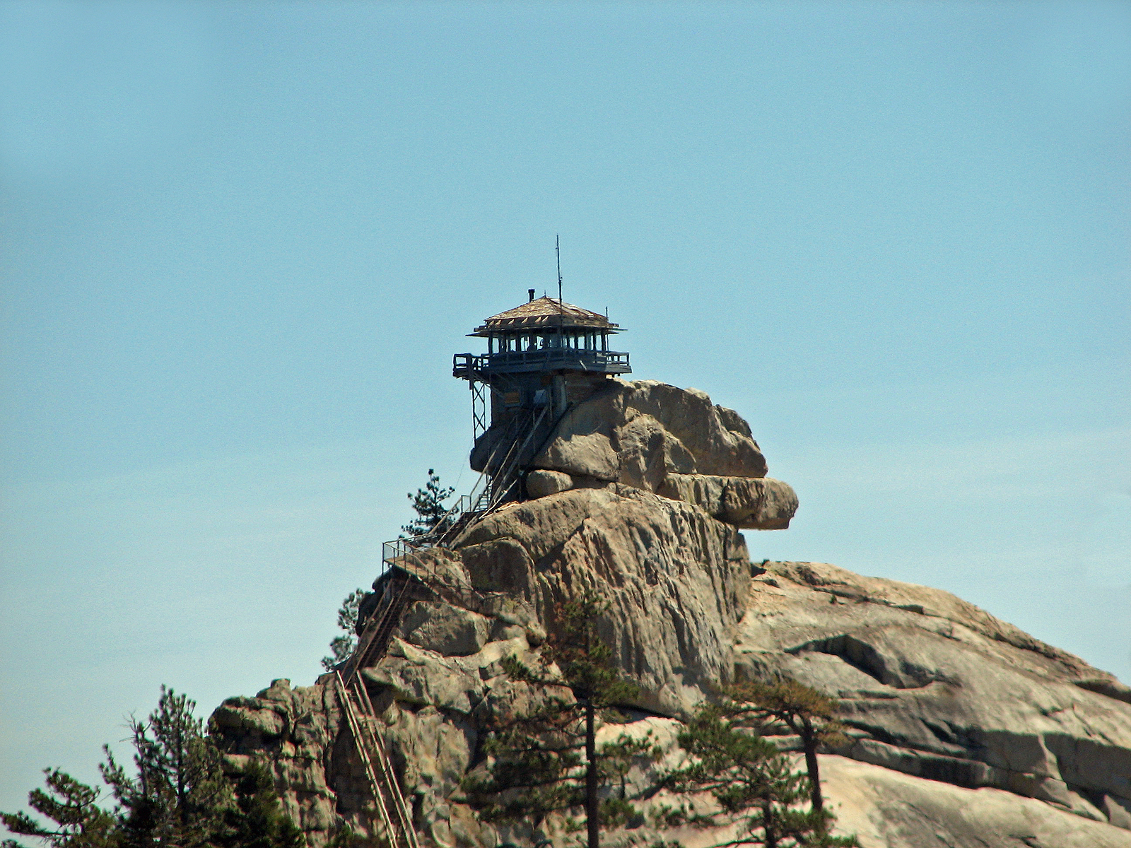 Needles Fire Watch Lookout Tower, Bspo06, Cliff, Construction, Fire, HQ Photo