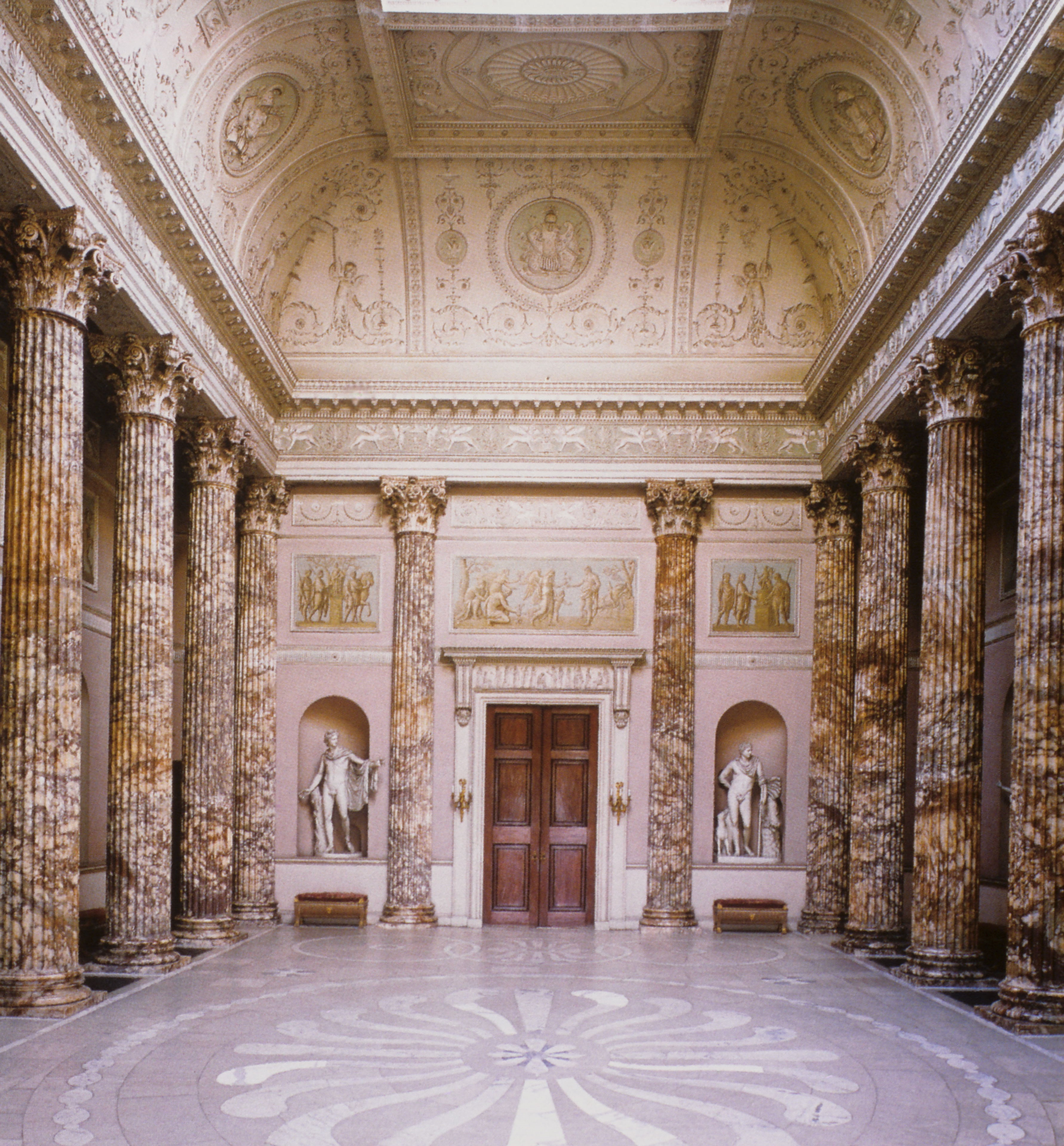 Inspiring Slides: Kedleston Hall and its neo-classical architecture ...