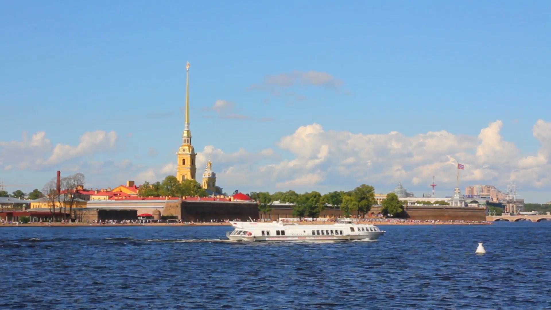 Neva river photo