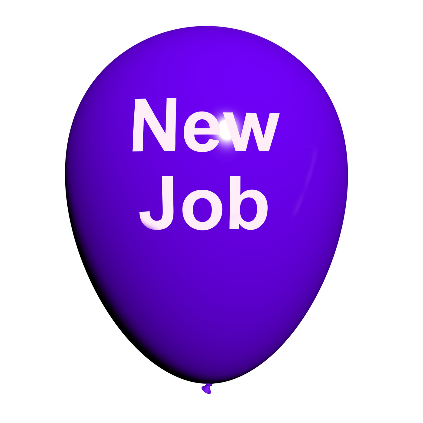 New Job Balloon Shows New Beginnings in Careers, Appointment, Balloon, Beginnings, Career, HQ Photo