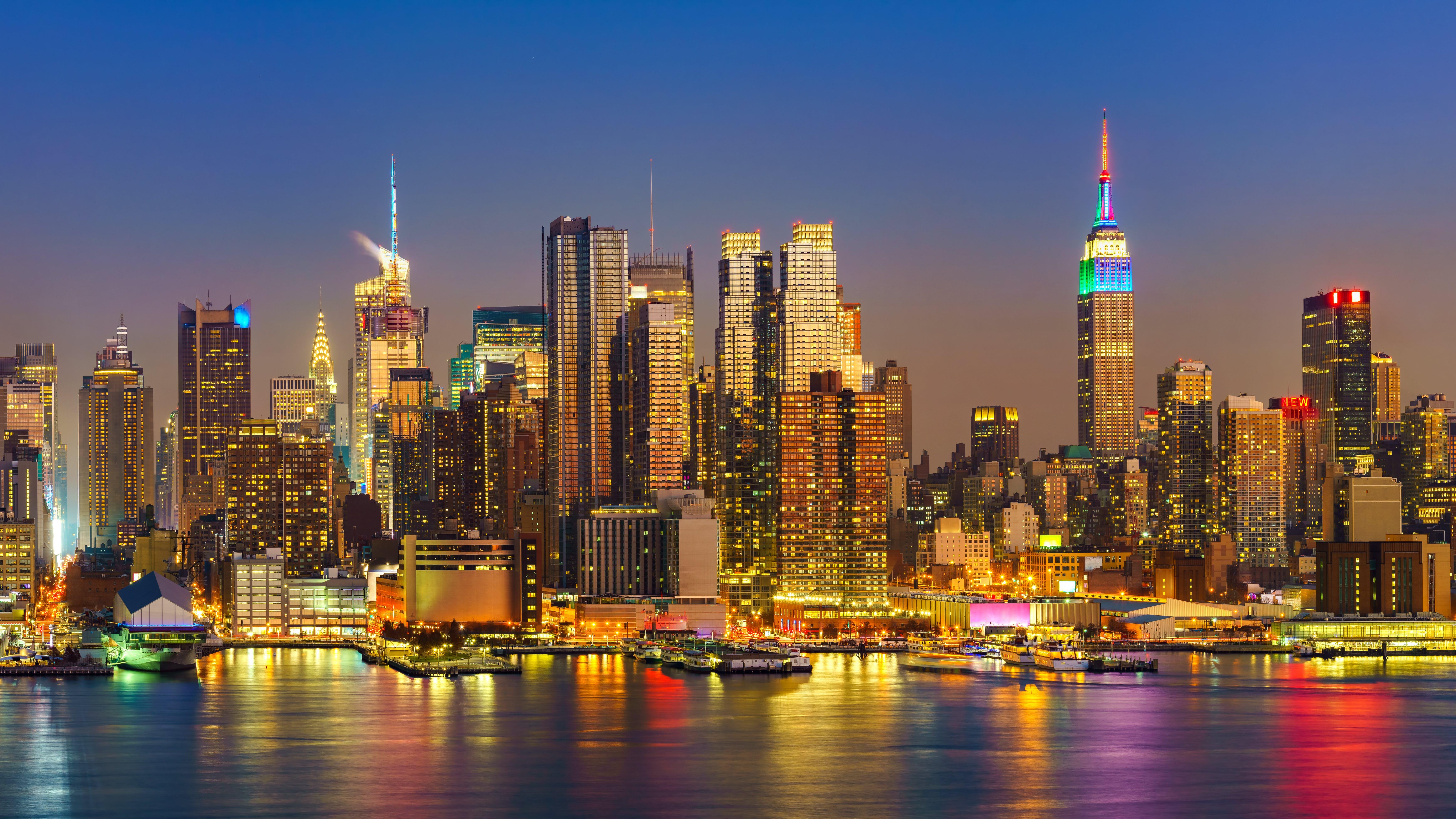 Big Apple in lights - NYC night tour