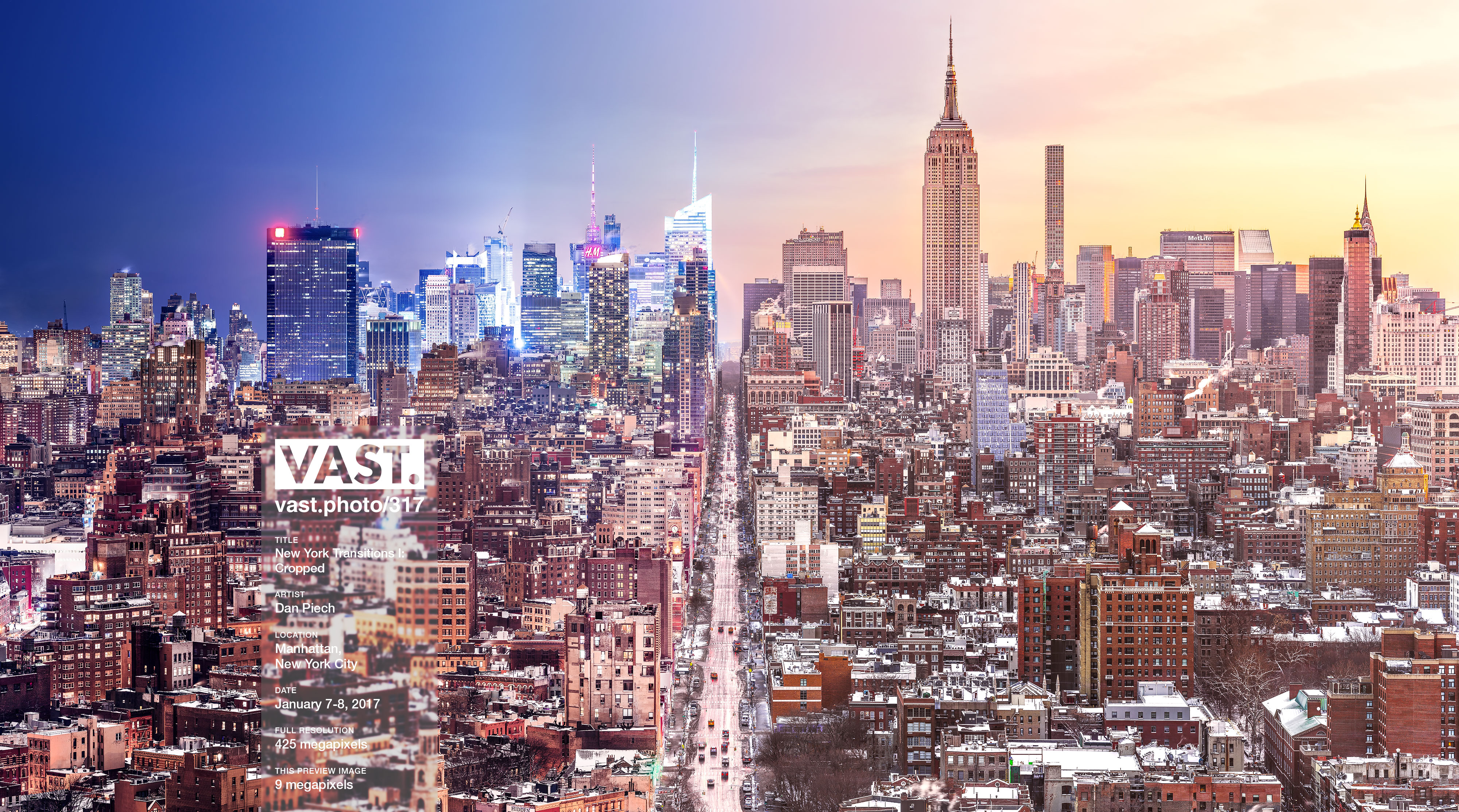 NYC Day and Night Skyline Photographs & Prints - VAST