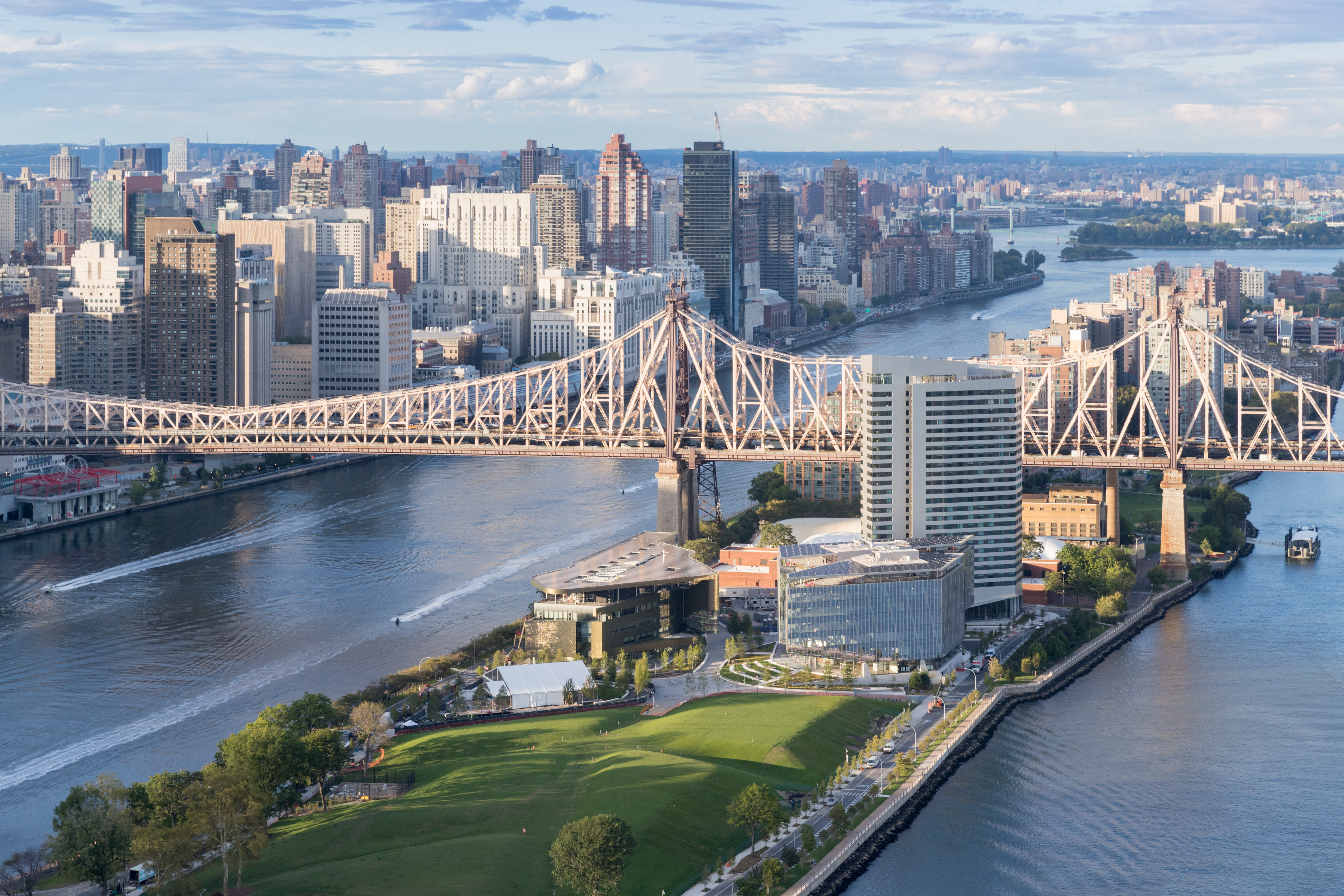 Cornell Tech officially opens campus on New York City's Roosevelt Island
