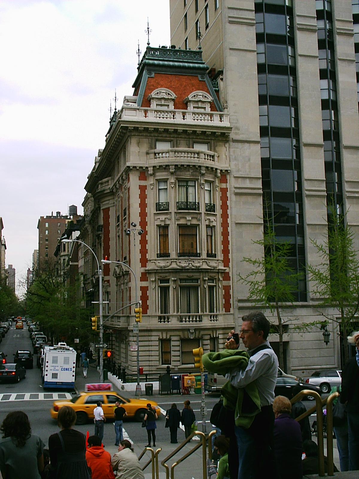 New York city street, Building, Busy, Cars, City, HQ Photo