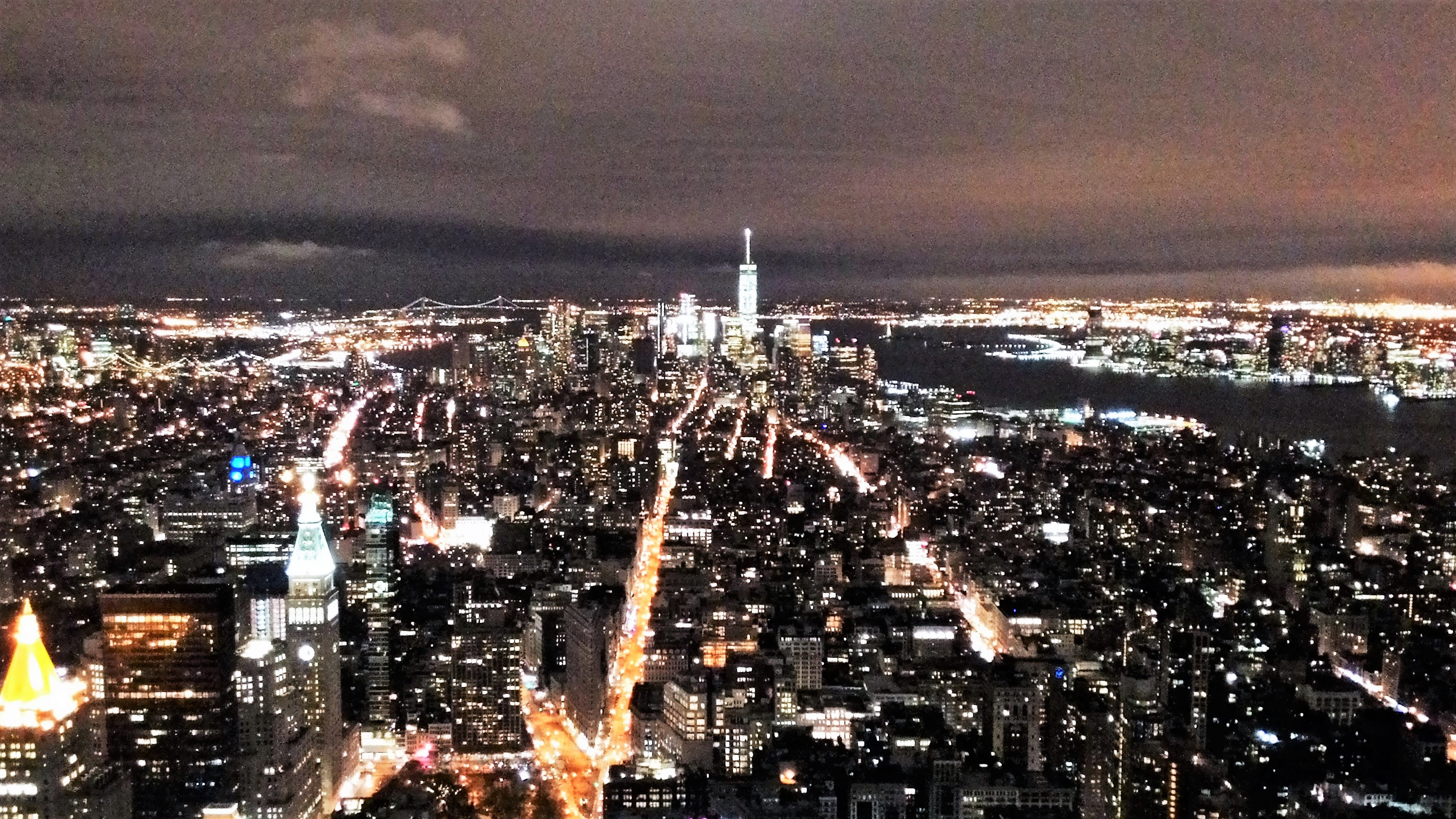 The Beautiful Night Lights Of New York City - Flavorful Travels