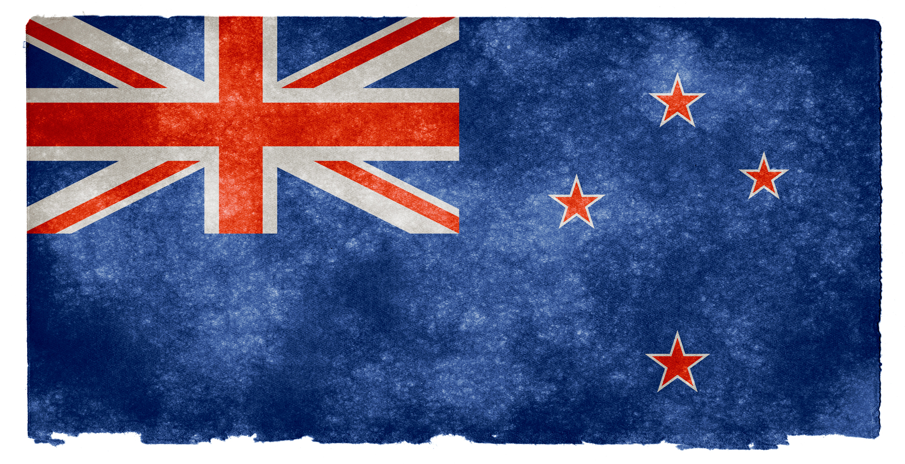 New zealand grunge flag photo