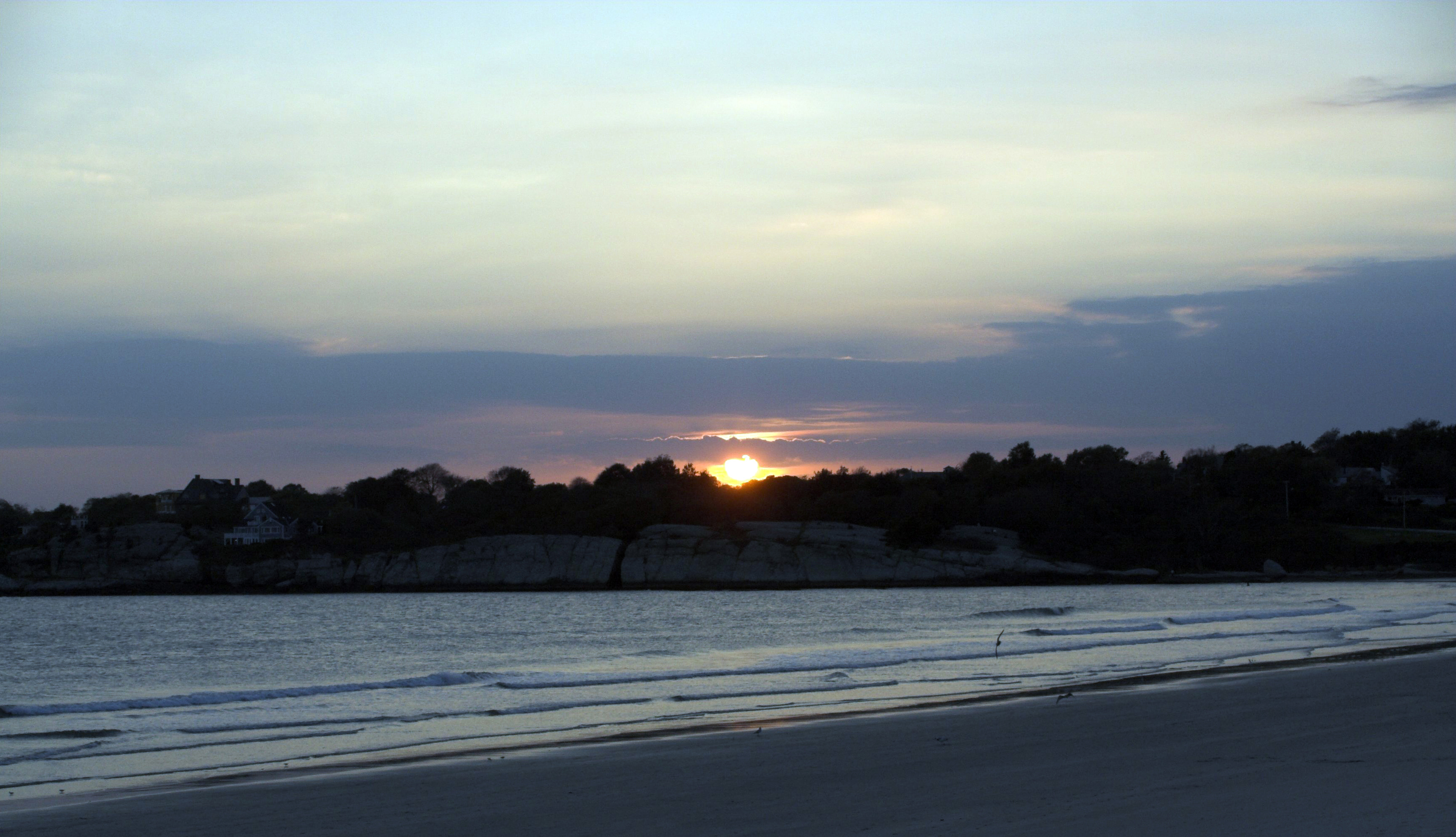 Newport sunset photo